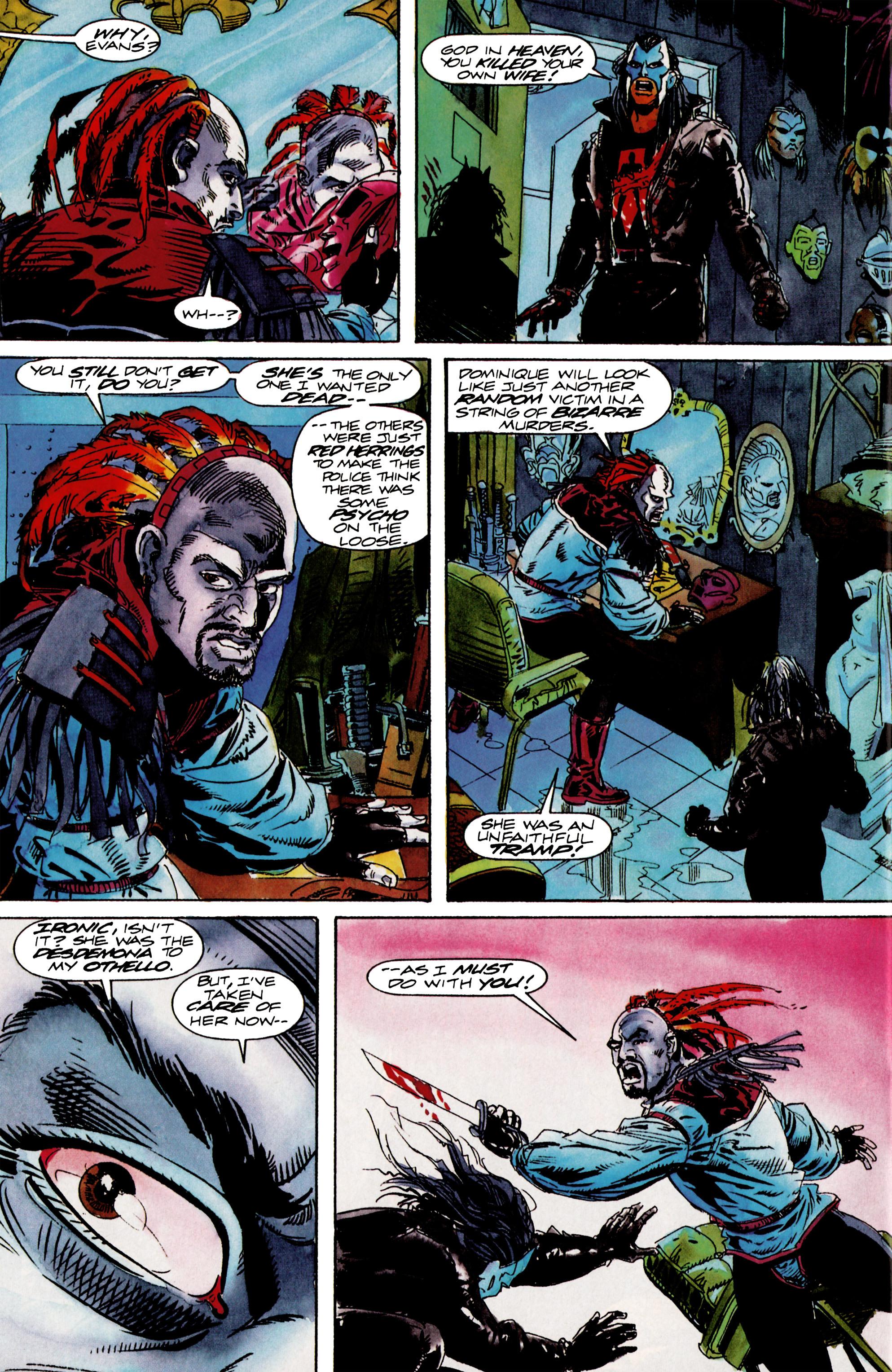 Read online Shadowman (1992) comic -  Issue #13 - 20