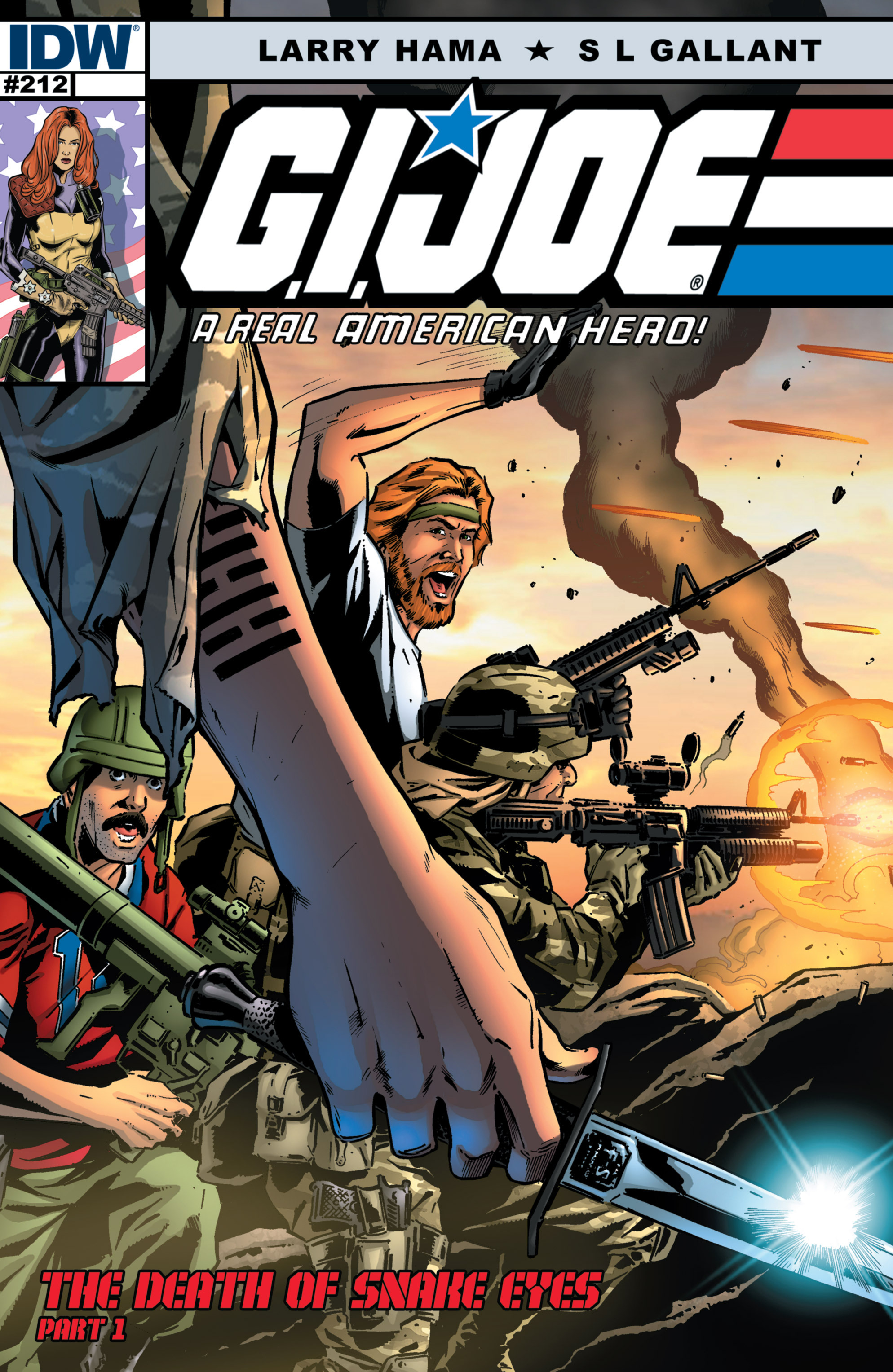 G.I. Joe: A Real American Hero 212 Page 1
