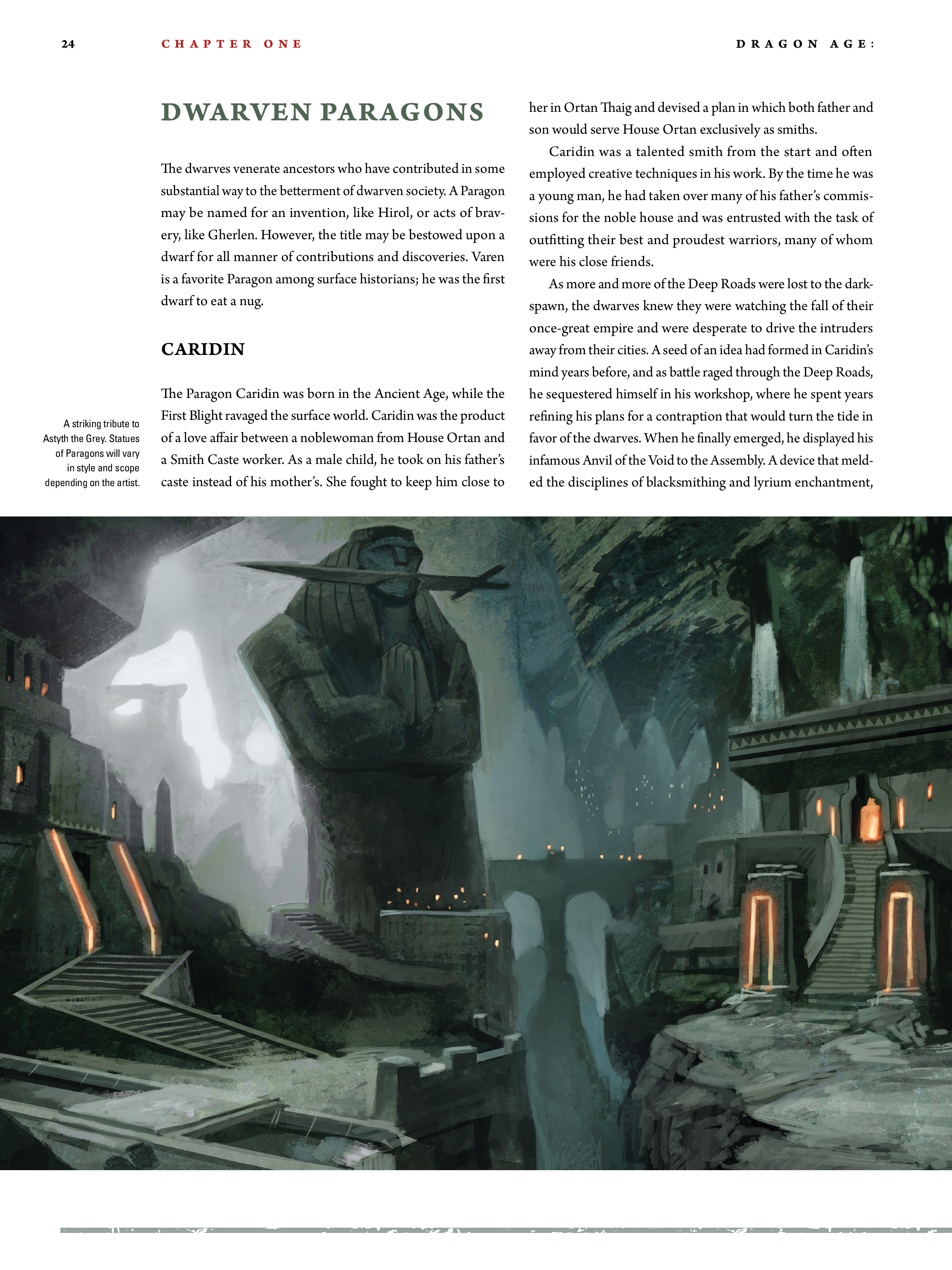 Read online Dragon Age: The World of Thedas comic -  Issue # TPB 2 - 22