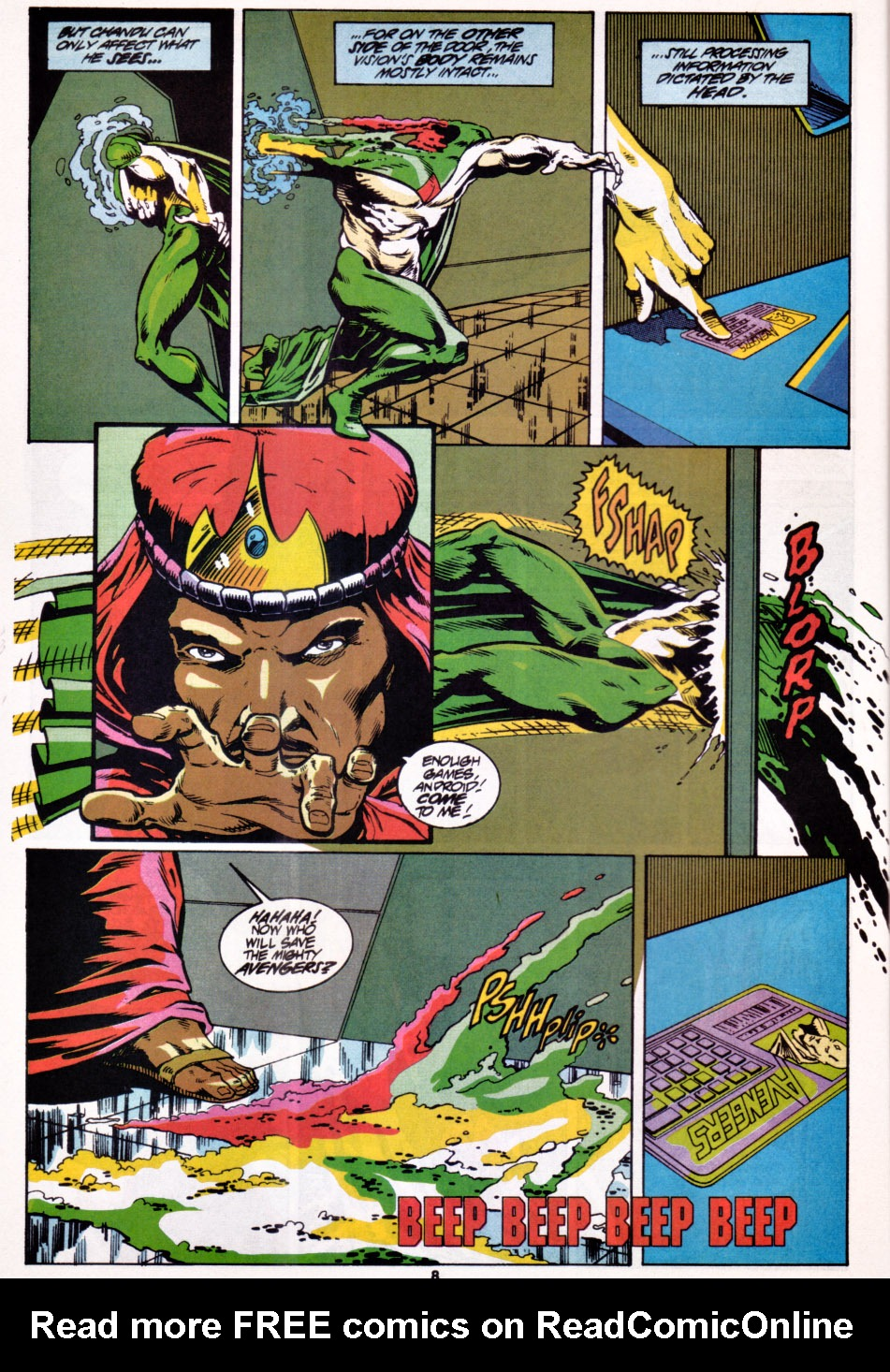 The Avengers (1963) _Annual_22 Page 8