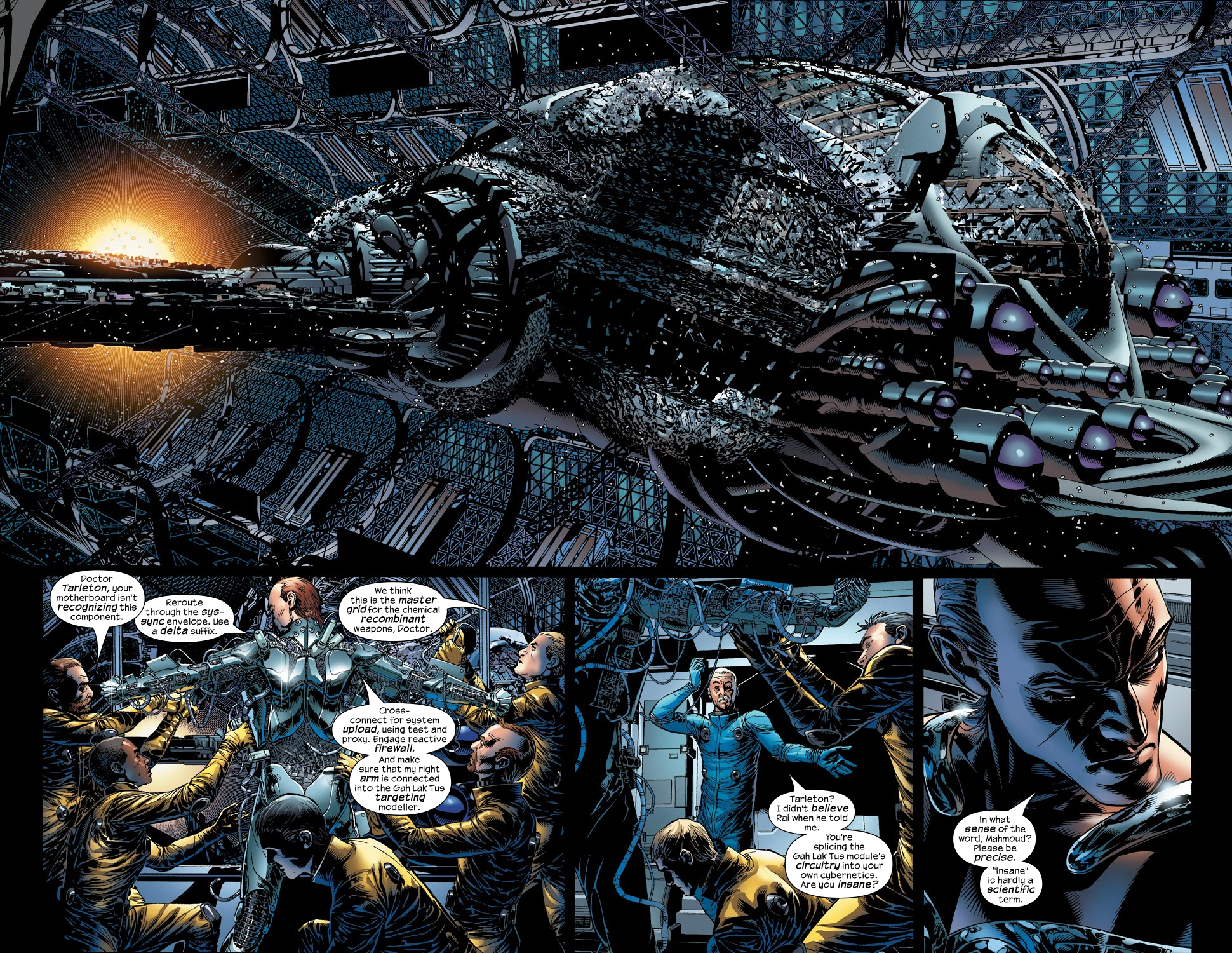 Read online Ultimate Vision comic -  Issue #2 - 4