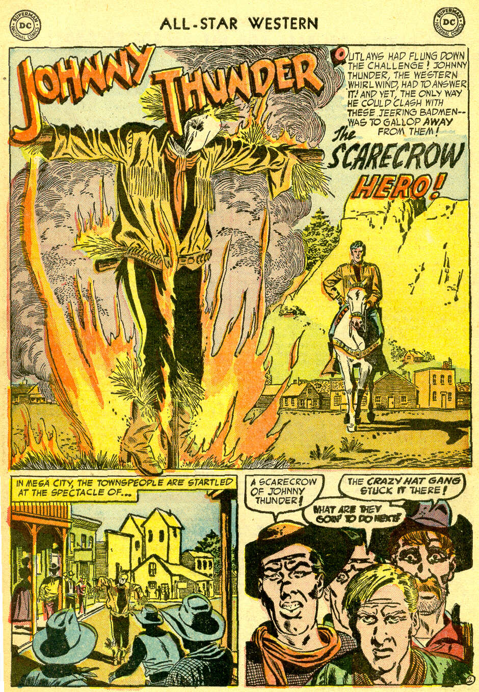 Read online All-Star Western (1951) comic -  Issue #75 - 28