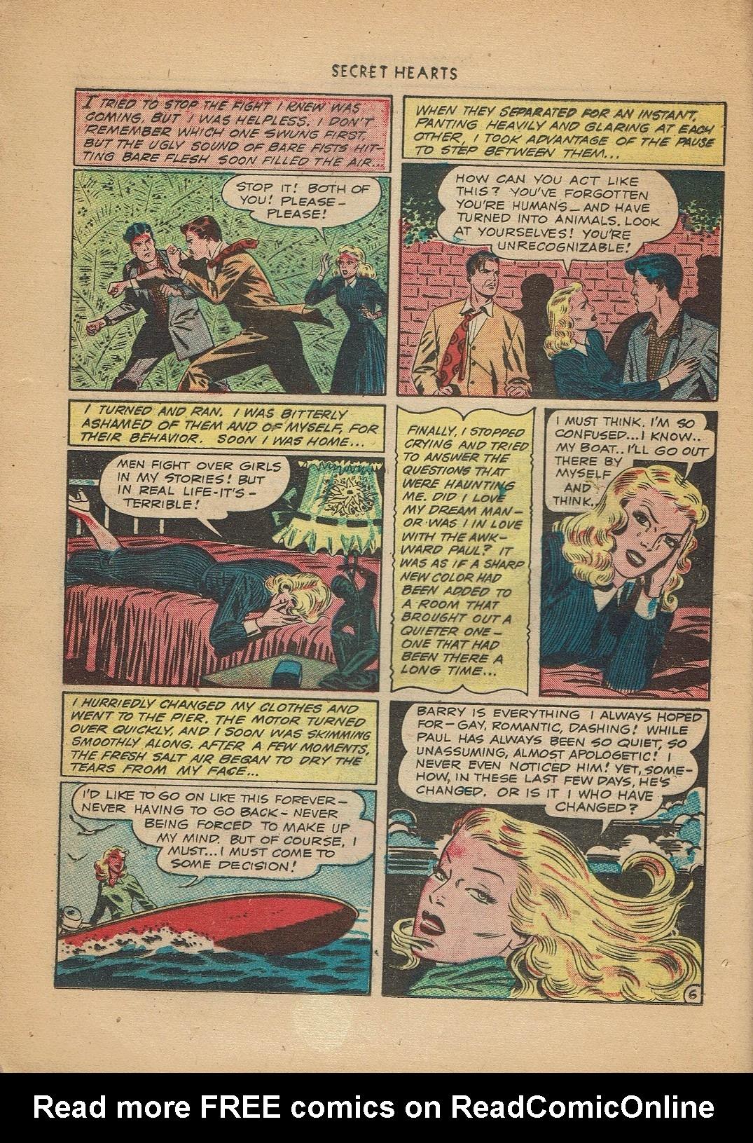 Read online Secret Hearts comic -  Issue #2 - 8