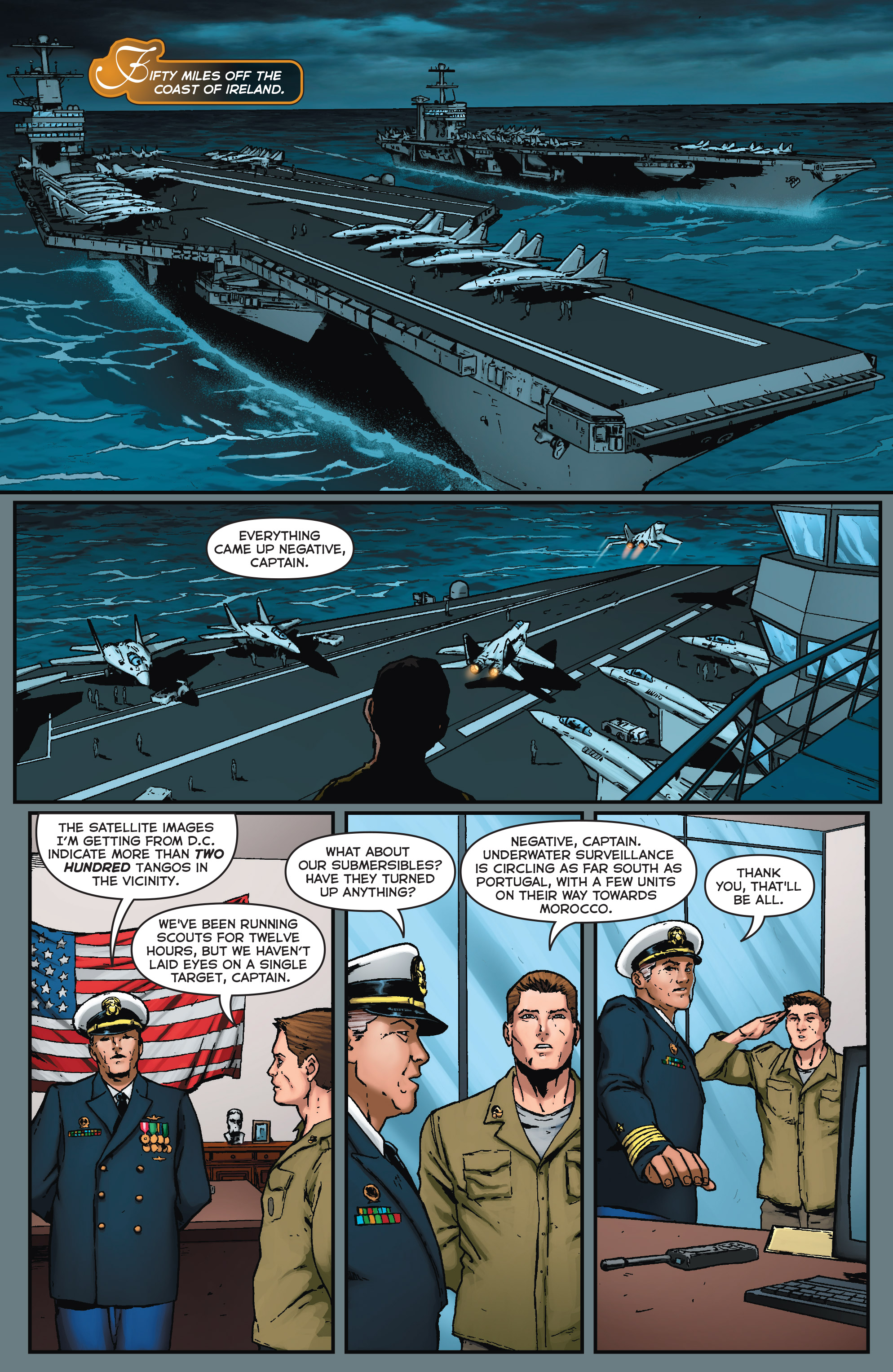 Read online Fathom (2017) comic -  Issue #5 - 10