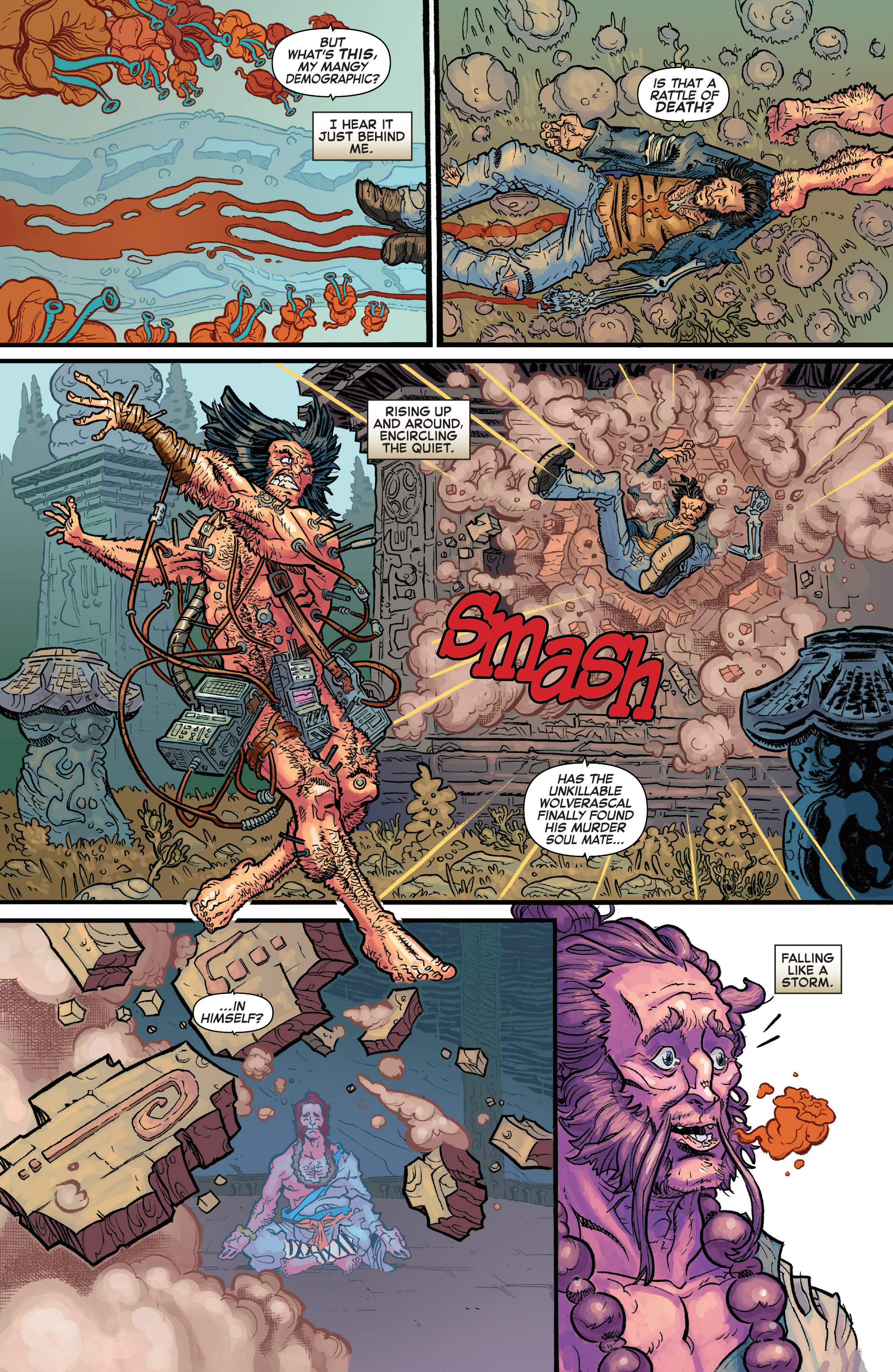 Read online Secret Wars Journal/Battleworld comic -  Issue # TPB - 171