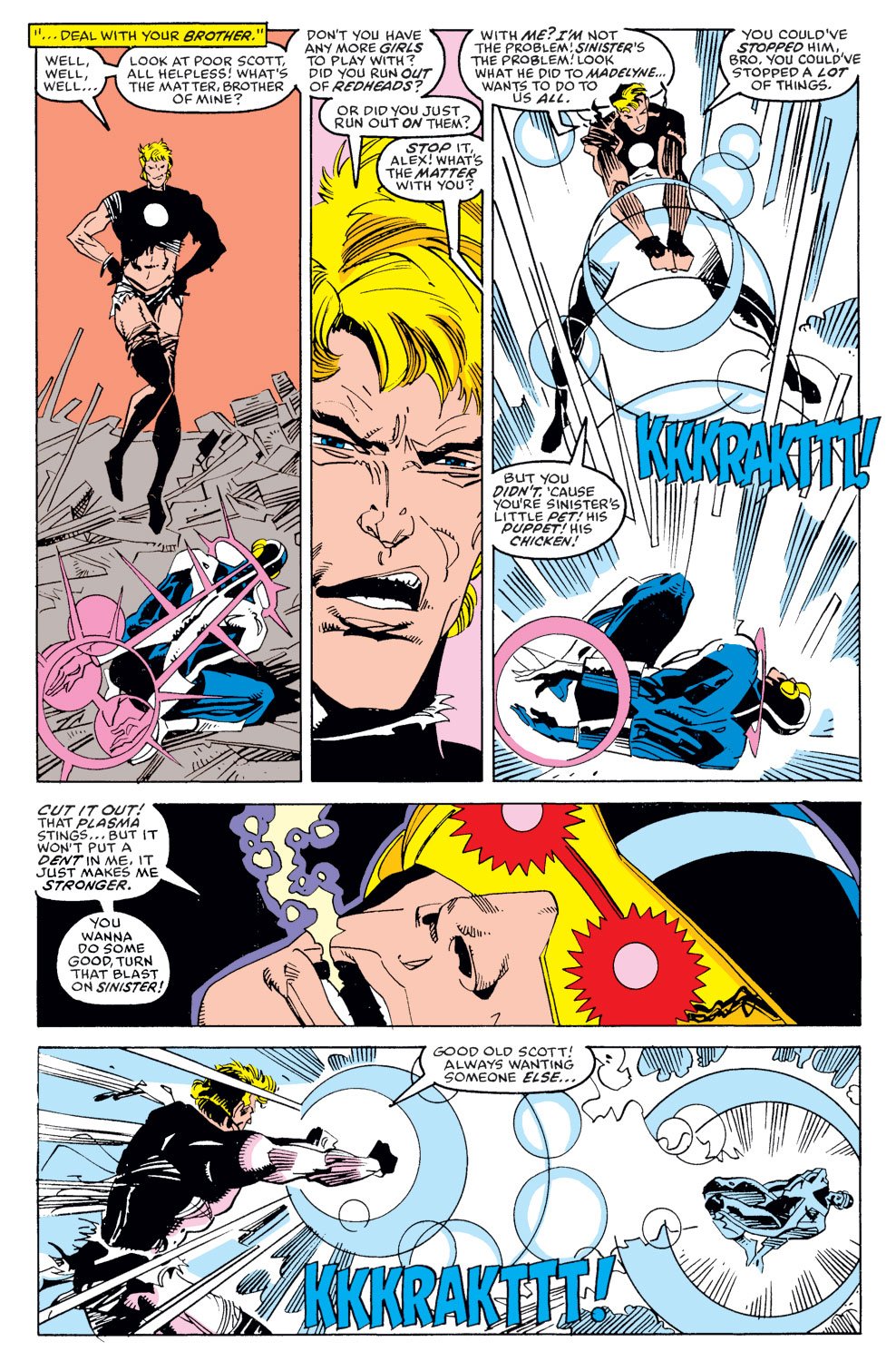 Read online X-Factor (1986) comic -  Issue #39 - 20