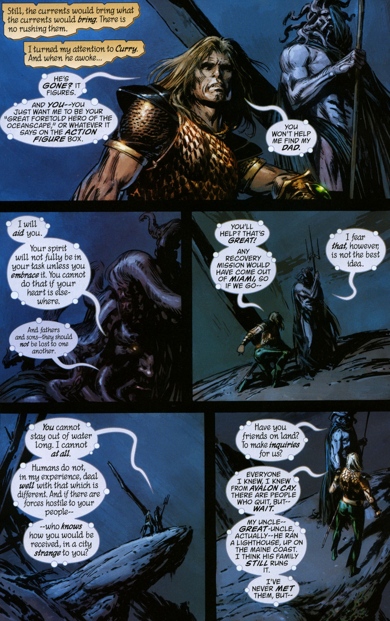 Read online Aquaman: Sword of Atlantis comic -  Issue #41 - 7