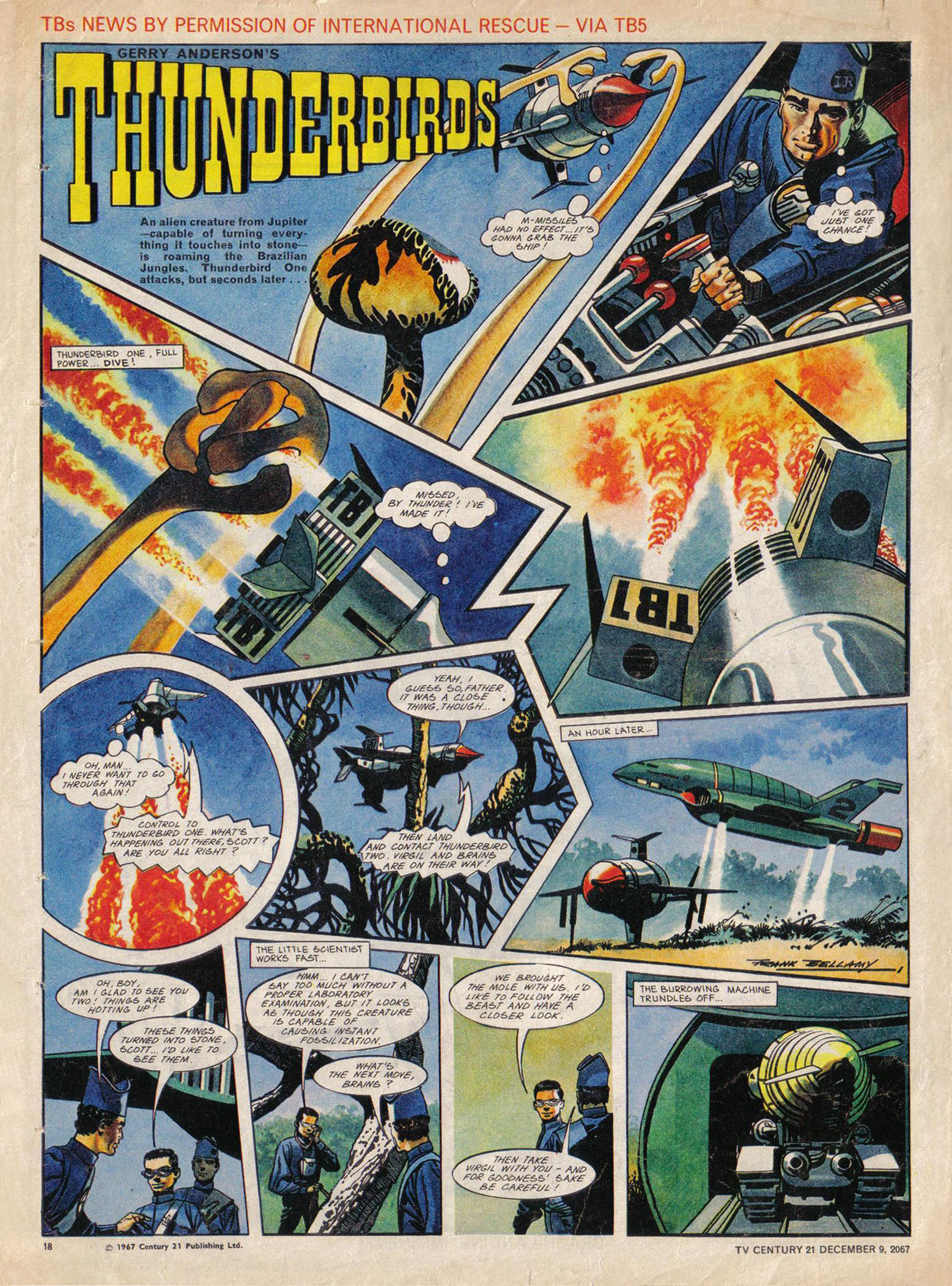 Read online TV Century 21 (TV 21) comic -  Issue #151 - 18