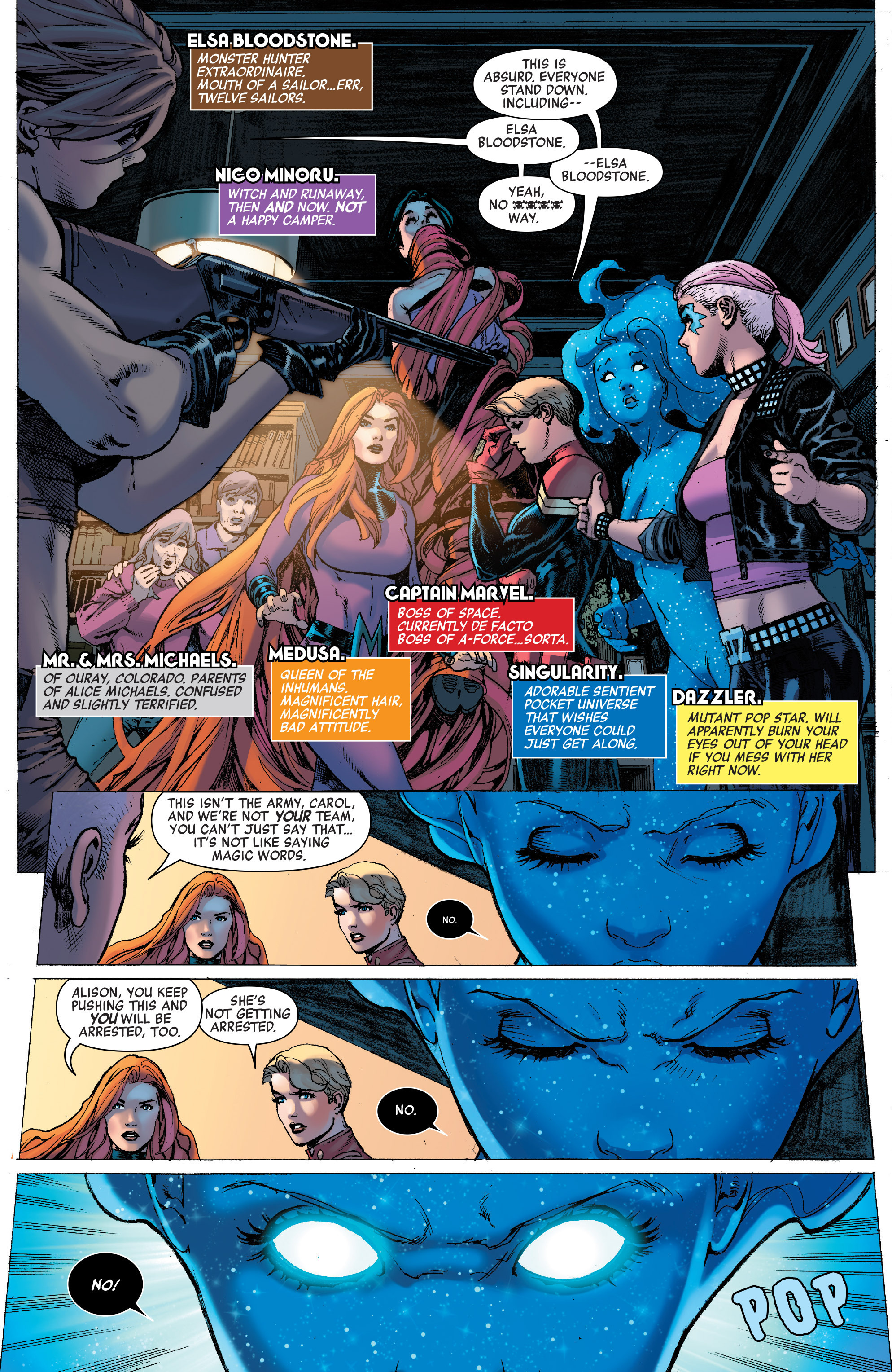 Read online A-Force (2016) comic -  Issue #9 - 6