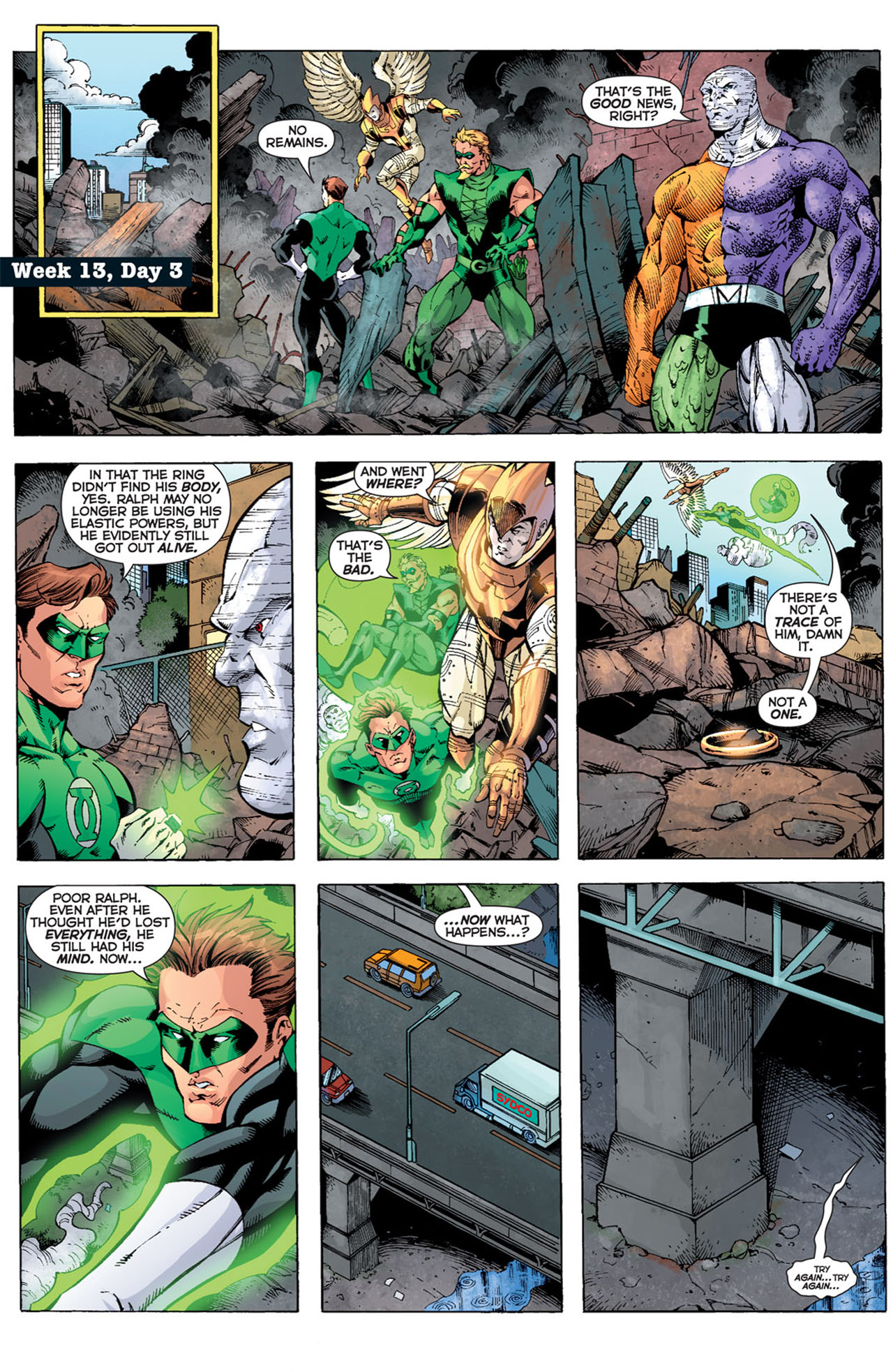 Read online 52 comic -  Issue #13 - 21
