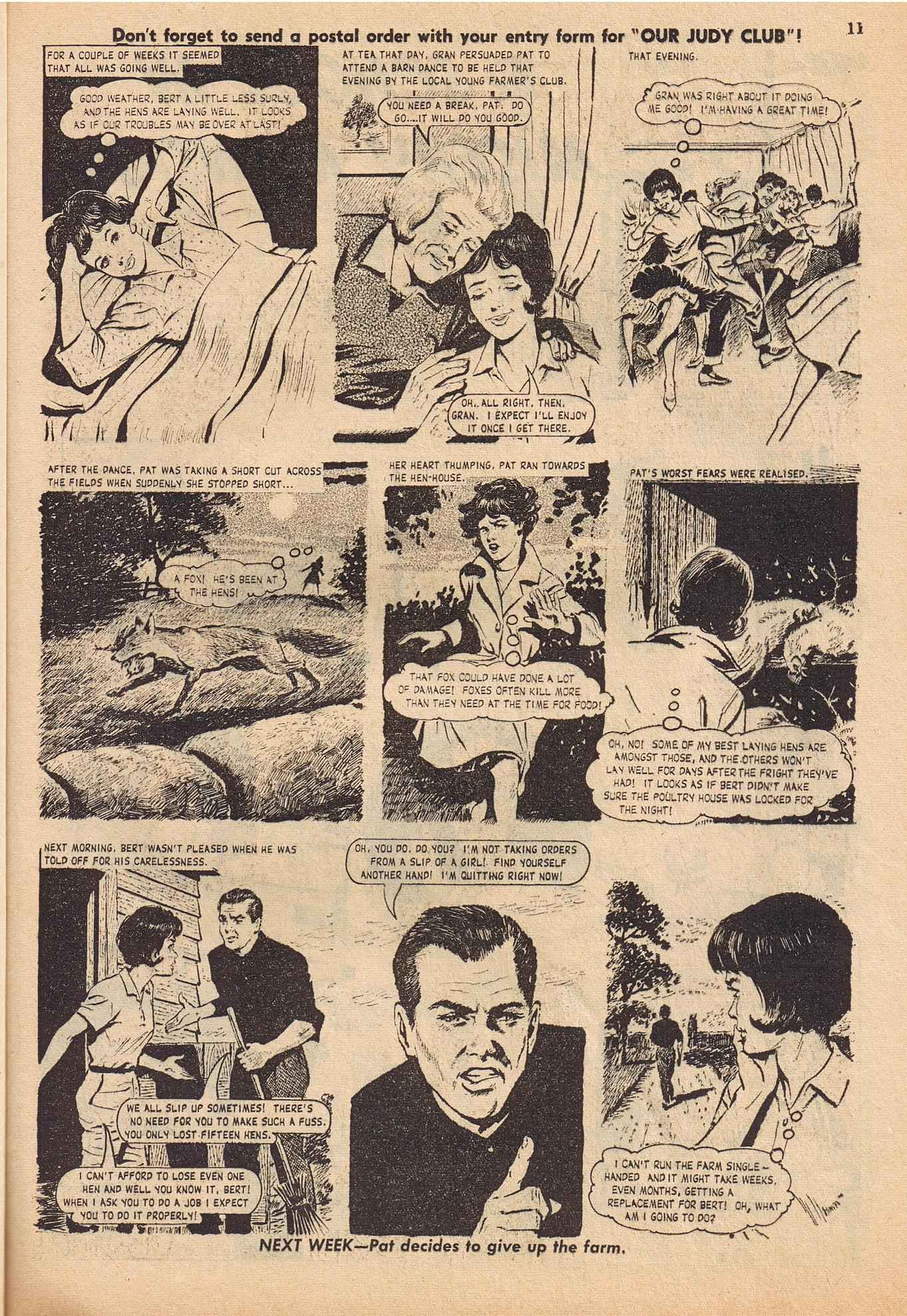 Read online Judy comic -  Issue #316 - 11