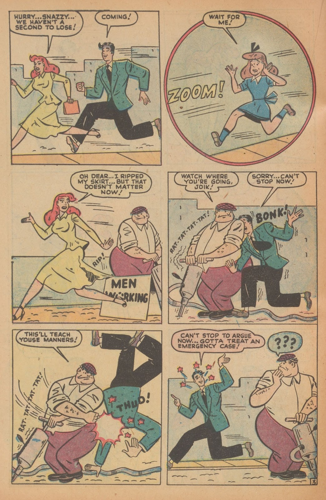 Read online Nellie The Nurse (1945) comic -  Issue #22 - 34