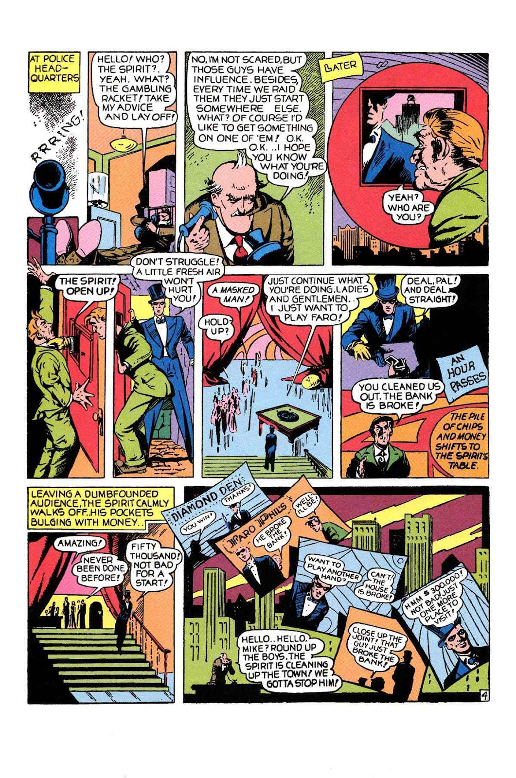 Read online Will Eisner's The Spirit Archives comic -  Issue # TPB 1 (Part 1) - 33