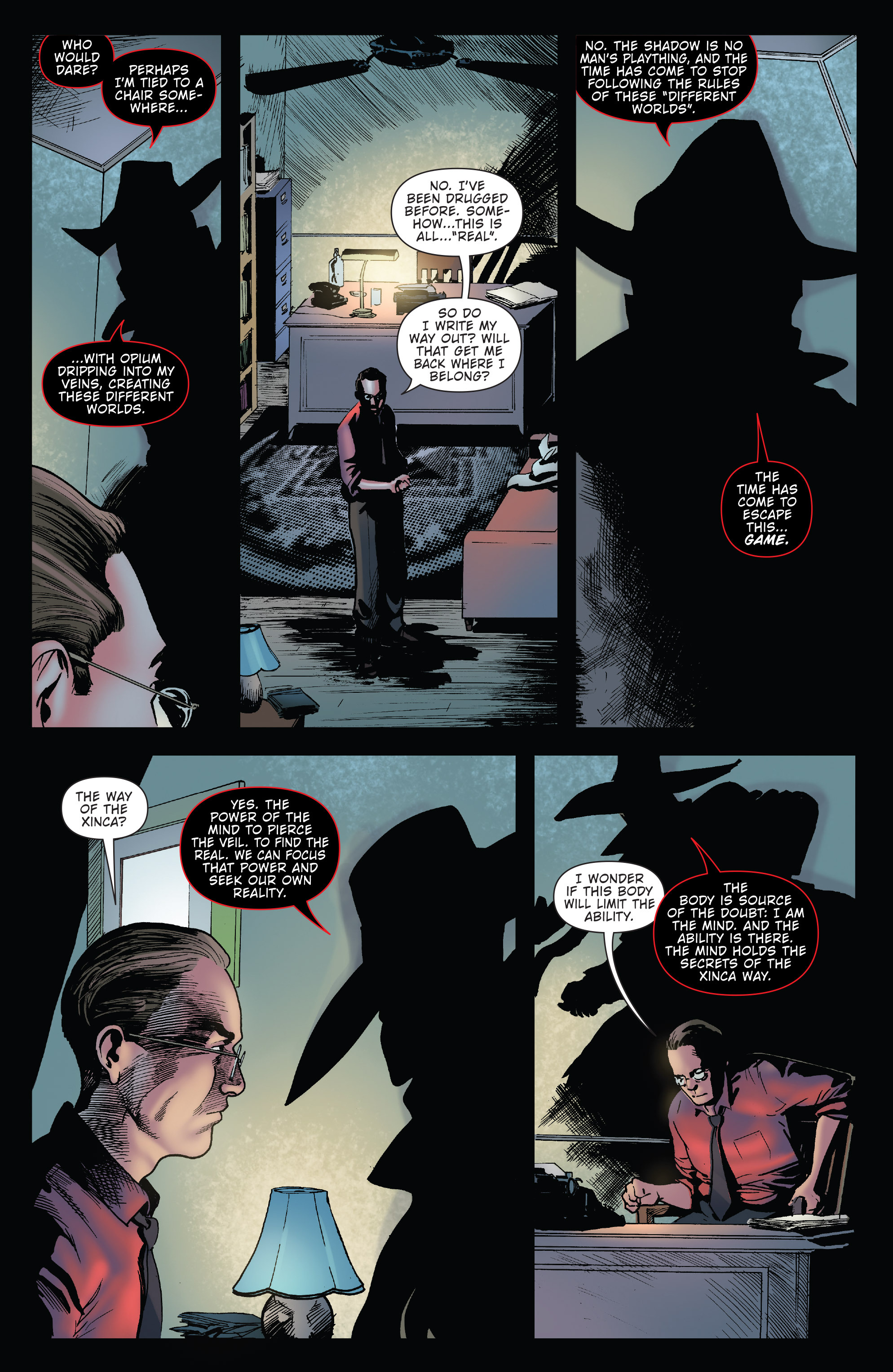 Read online Twilight Zone The Shadow comic -  Issue #3 - 7