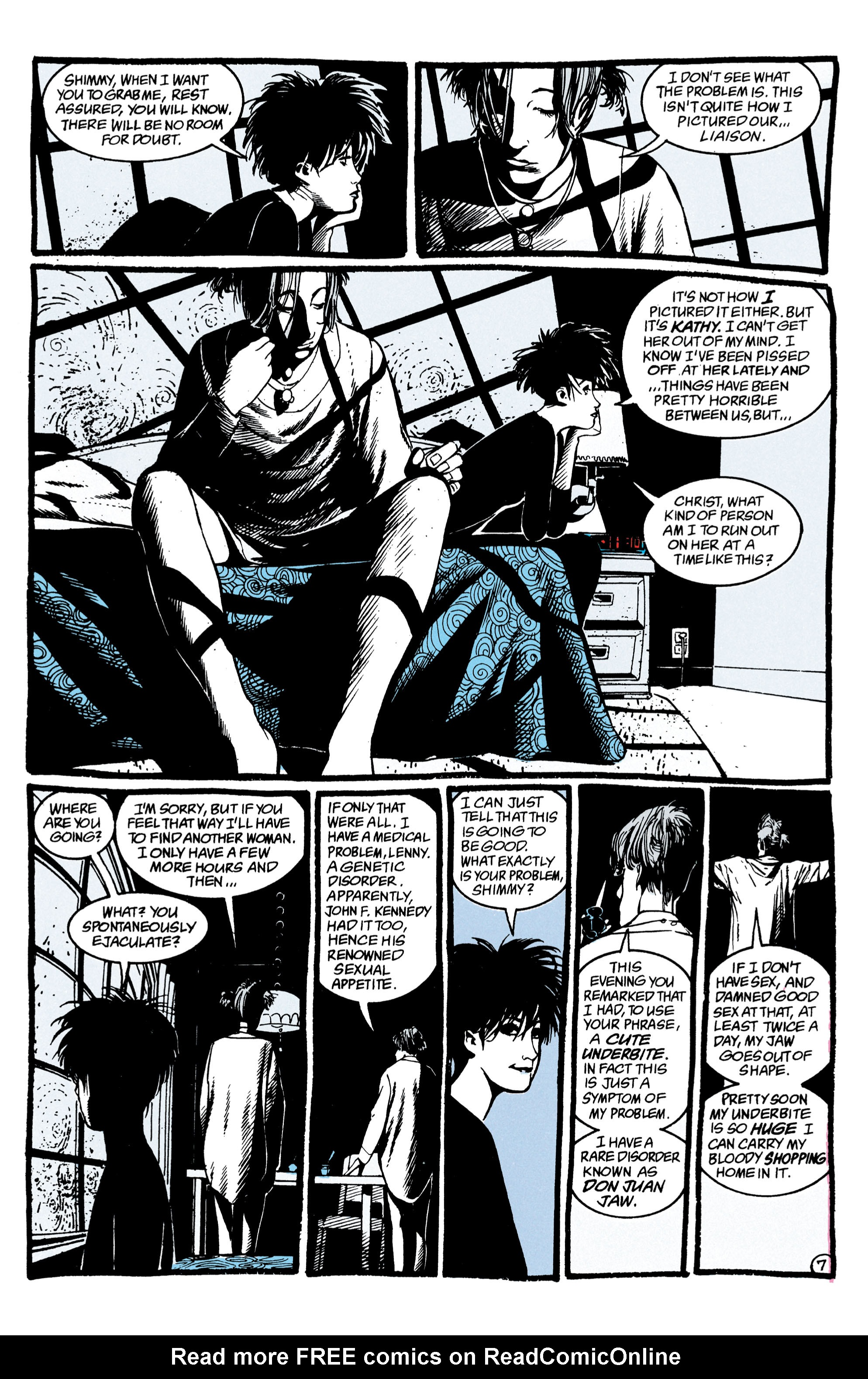 Read online Shade, the Changing Man comic -  Issue #47 - 8