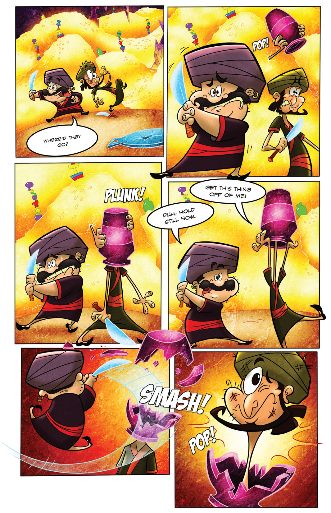 Read online 1001 Nights comic -  Issue #4 - 17
