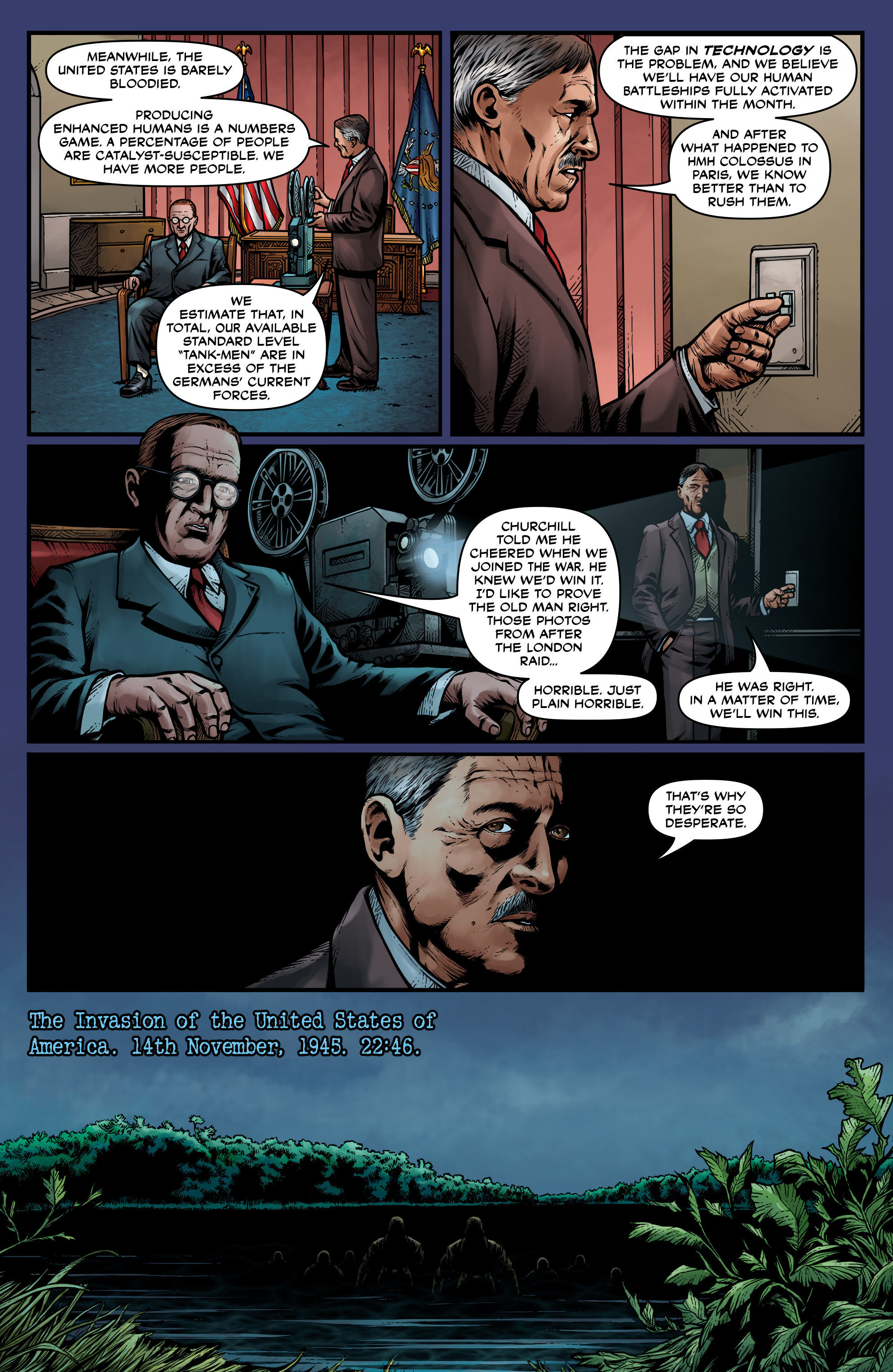Read online Uber: Invasion comic -  Issue #1 - 7