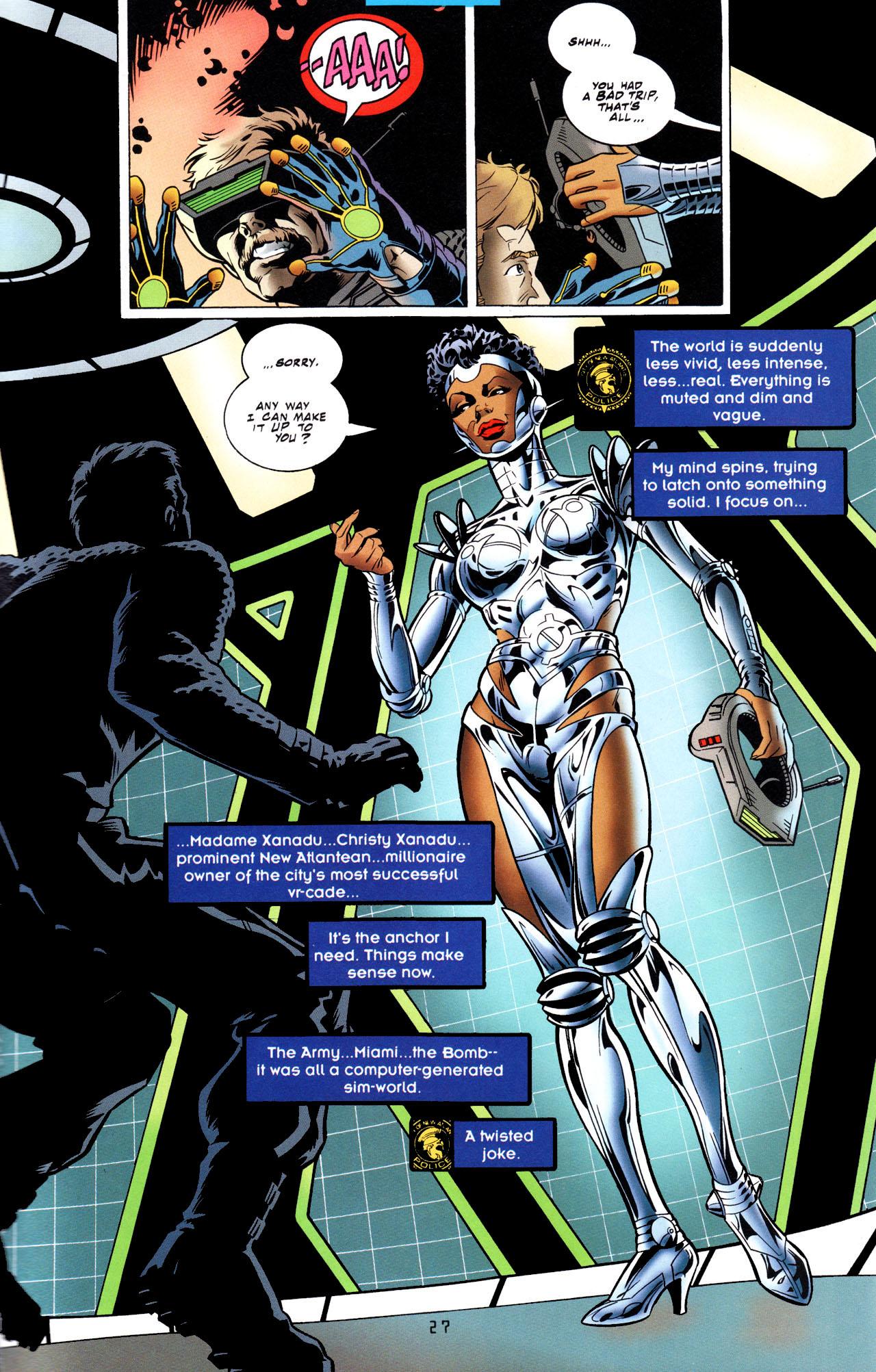 Read online Tangent Comics/ The Joker comic -  Issue # Full - 28