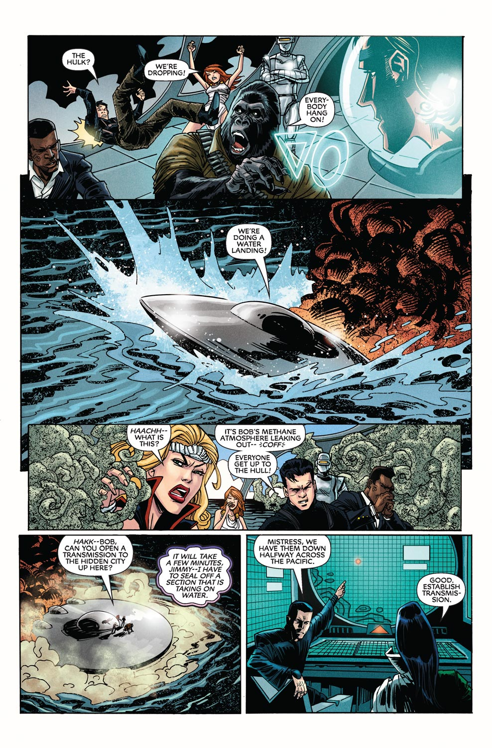 Read online Agents Of Atlas (2009) comic -  Issue #9 - 22