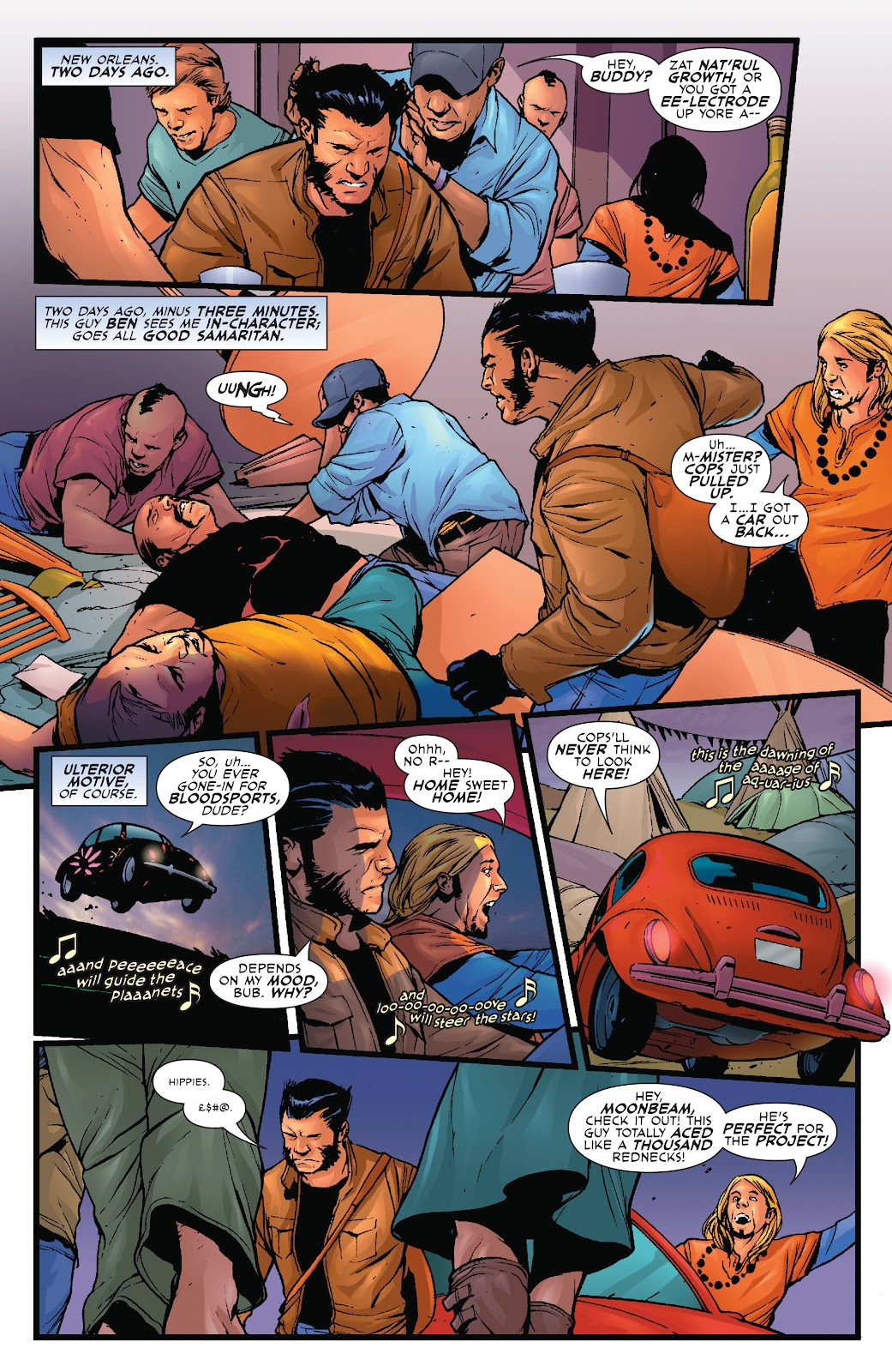 Wolverine: Dangerous Games issue Full - Page 3