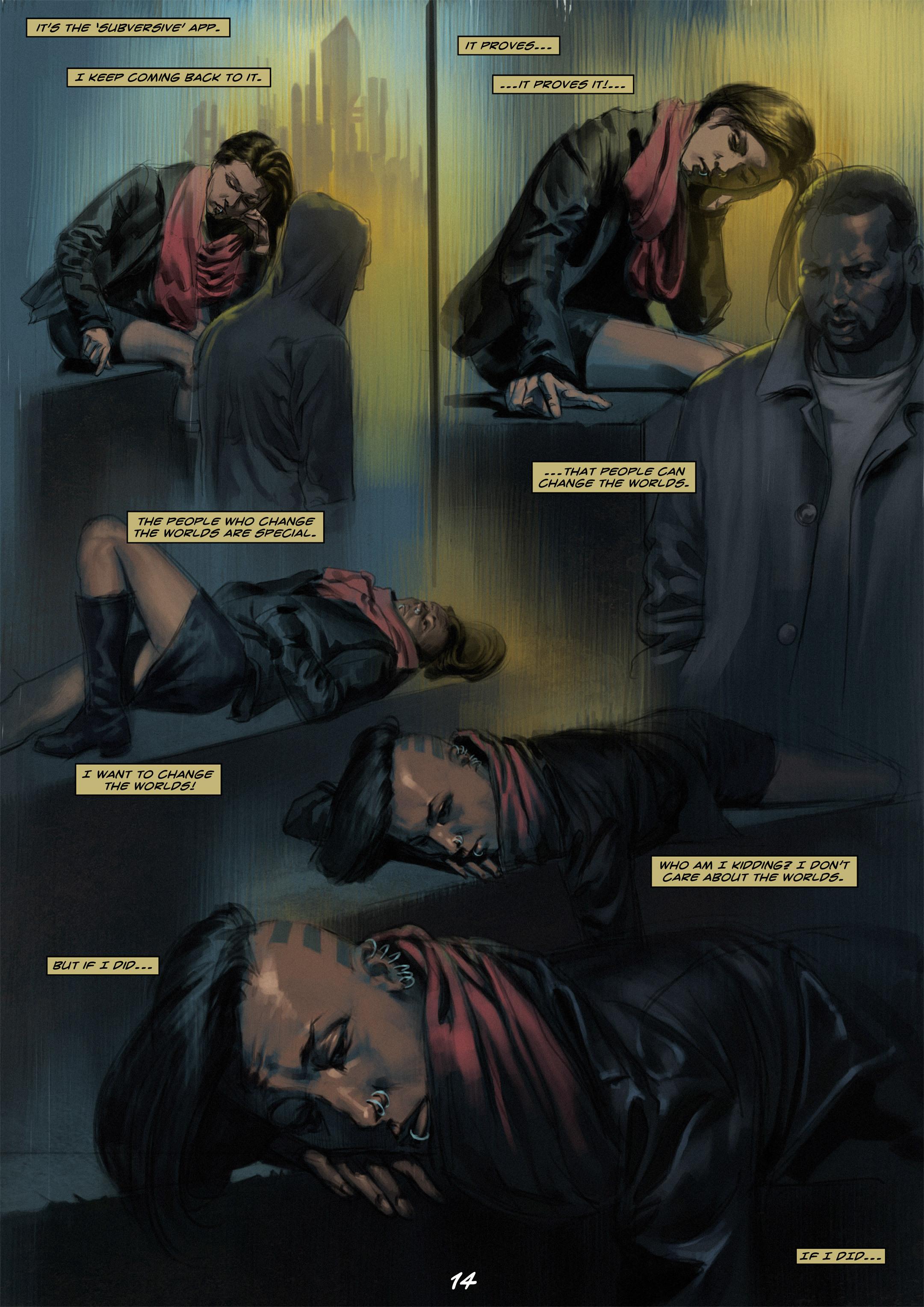 Read online Wynter comic -  Issue #1 - 14