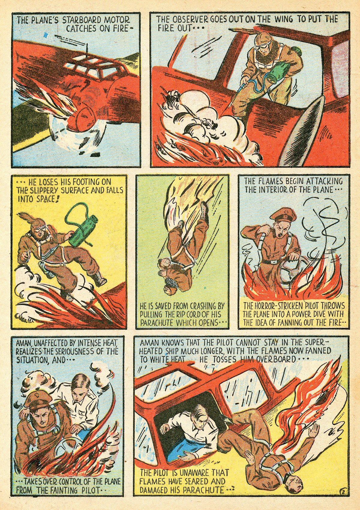 Read online Amazing Man Comics comic -  Issue #10 - 5