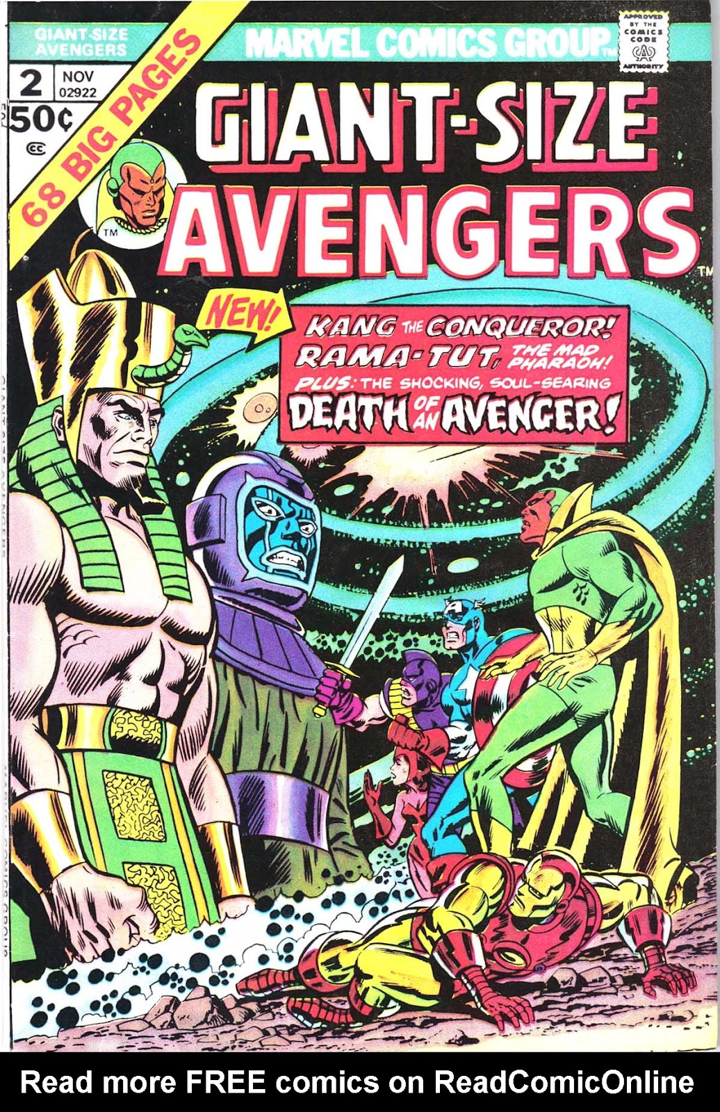 Giant-Size Avengers (1974) issue 2 - Page 1