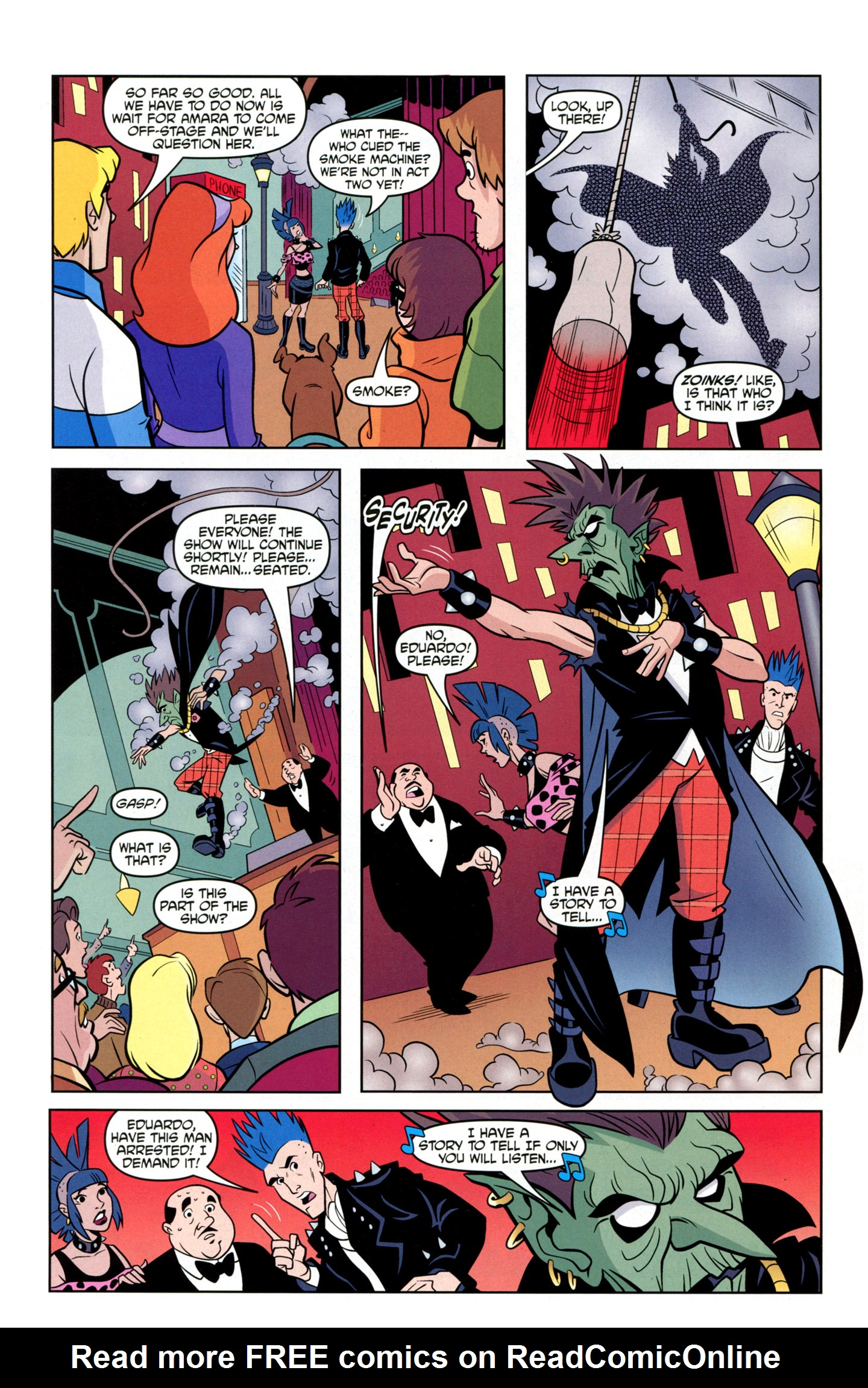 Read online Scooby-Doo: Where Are You? comic -  Issue #20 - 23