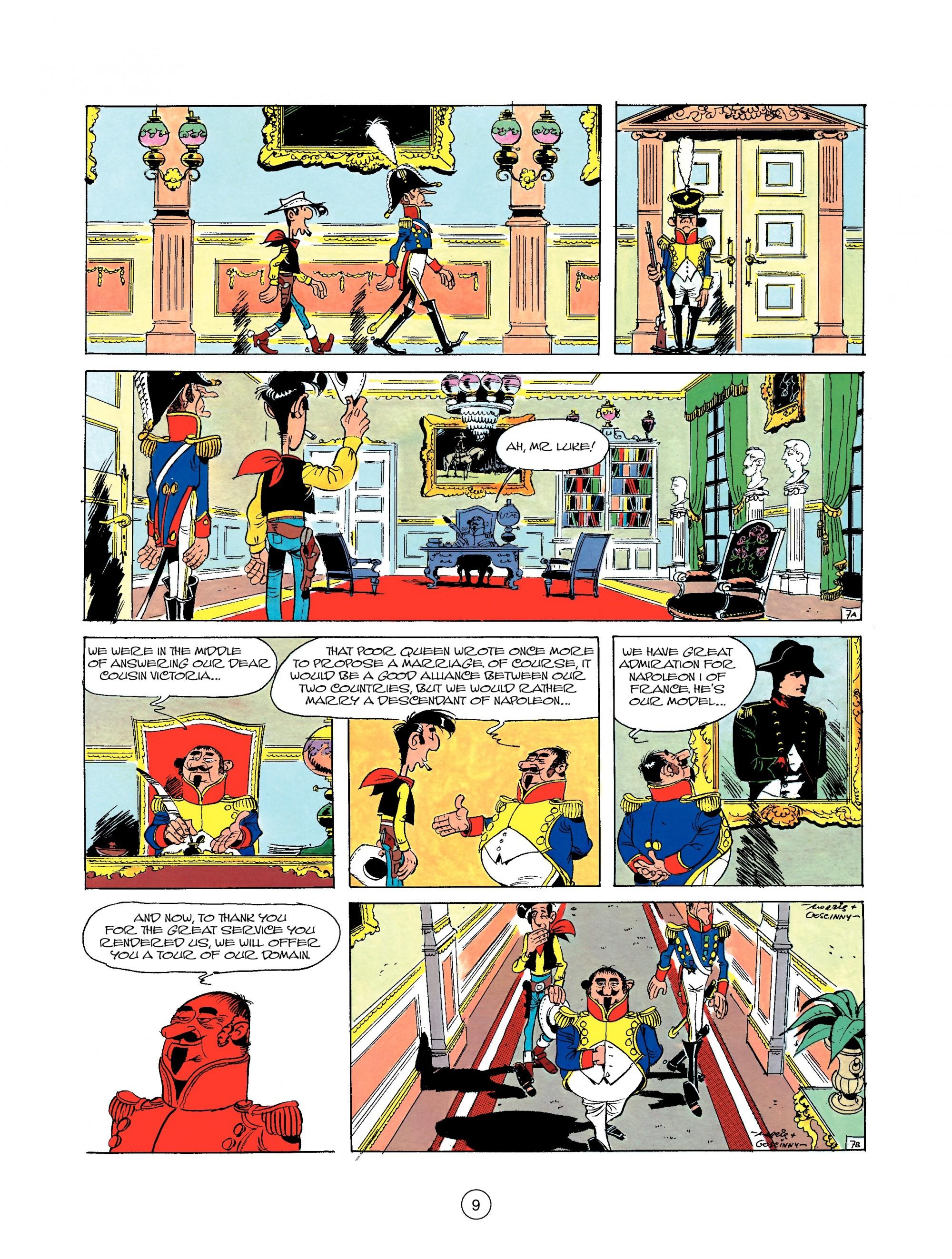 Read online A Lucky Luke Adventure comic -  Issue #22 - 9