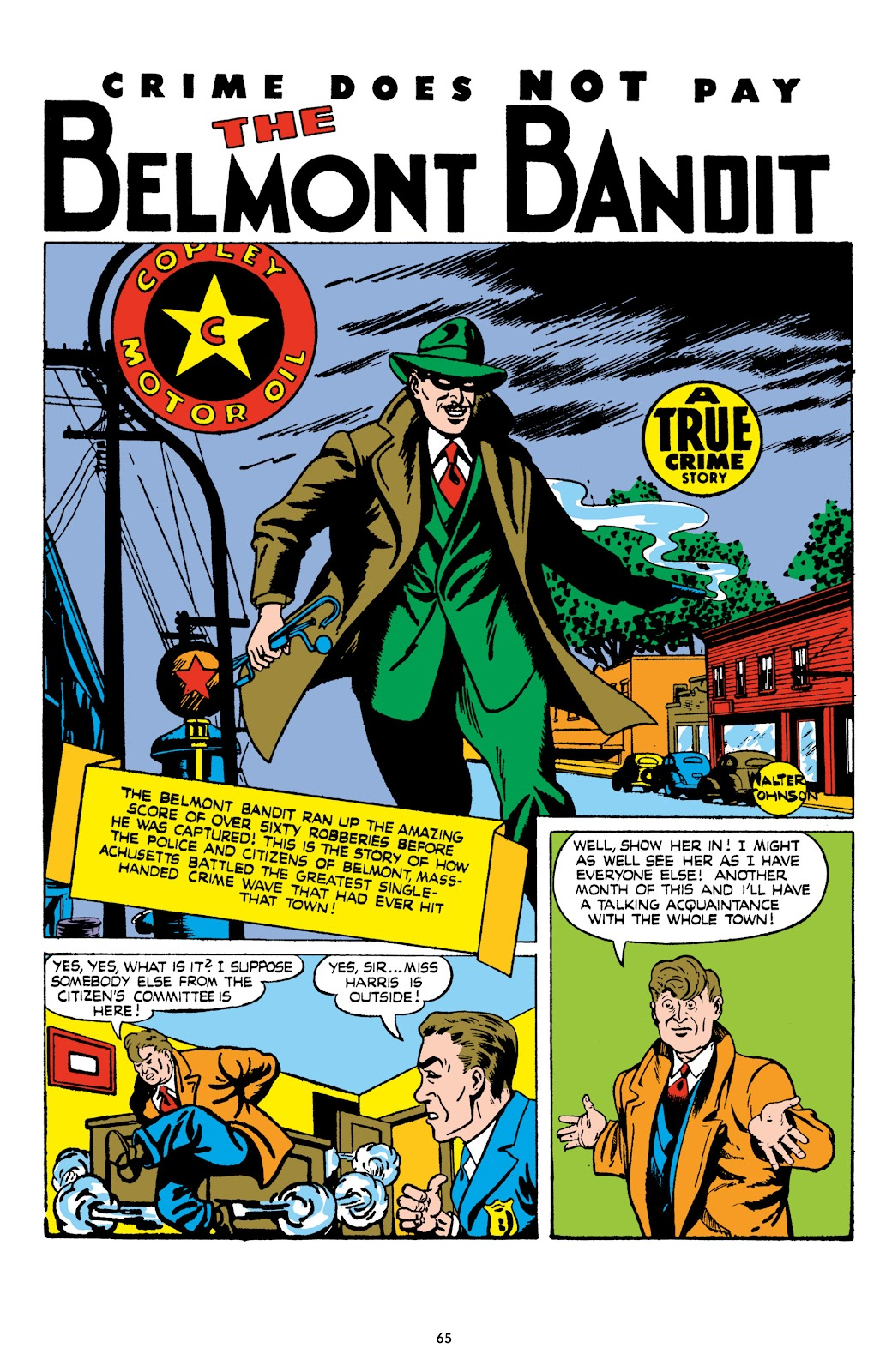 Read online Crime Does Not Pay Archives comic -  Issue # TPB 8 (Part 1) - 66