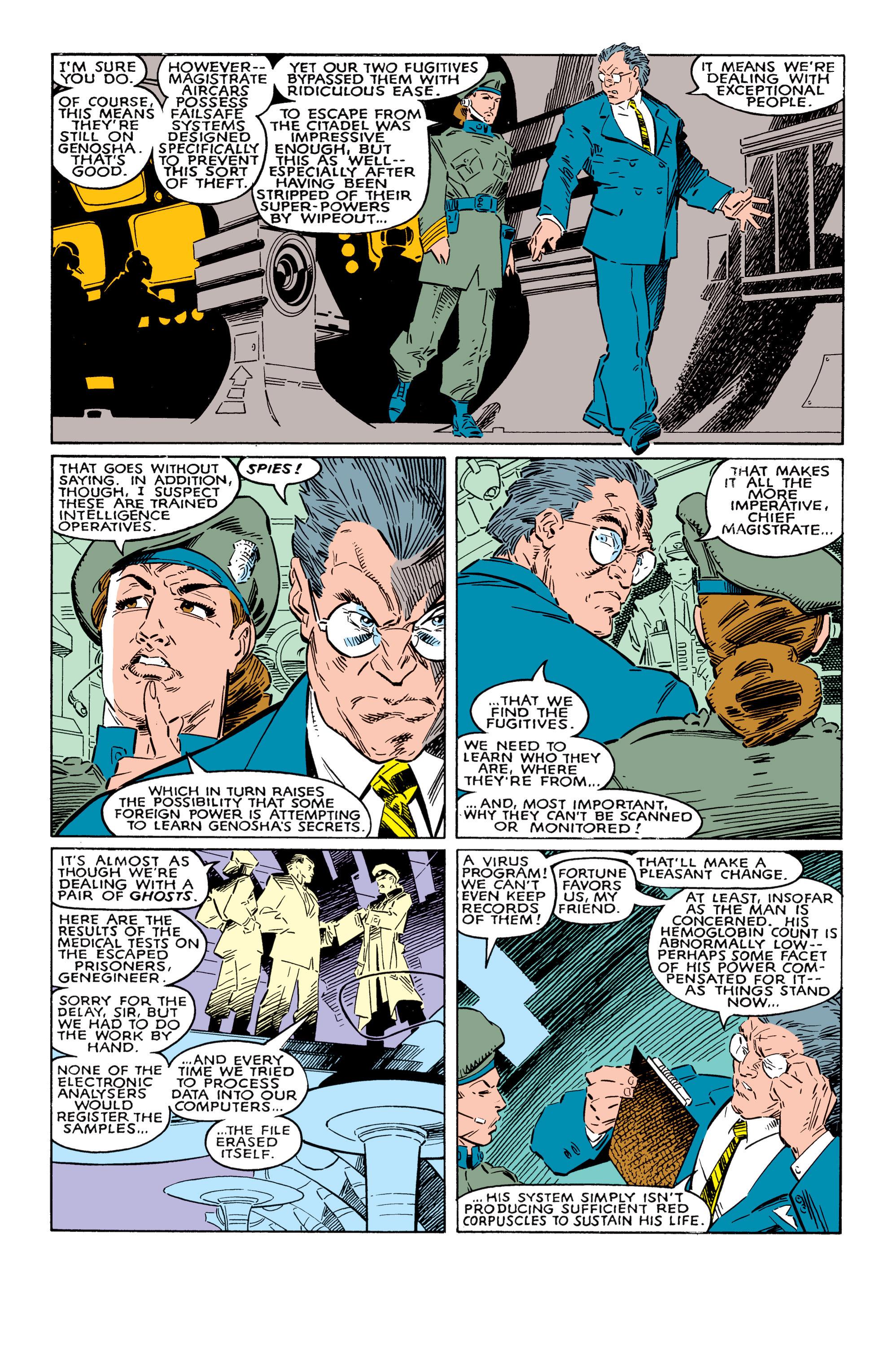 Read online Uncanny X-Men (1963) comic -  Issue #237 - 5