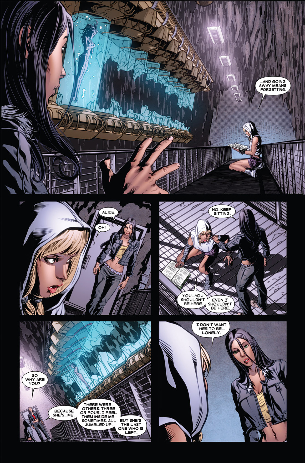 Read online X-23 (2010) comic -  Issue #5 - 16