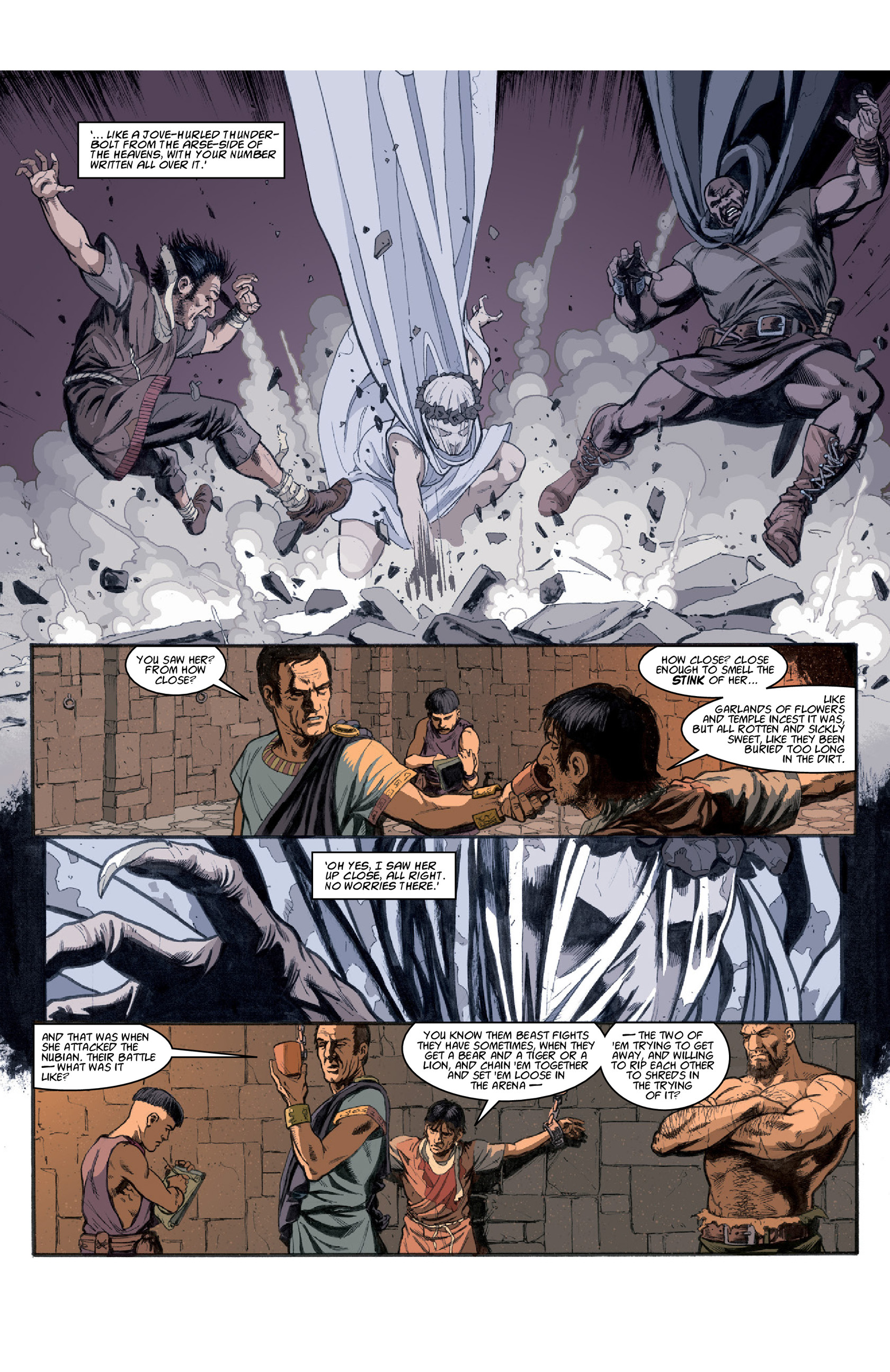 Read online Aquila comic -  Issue #3 - 25