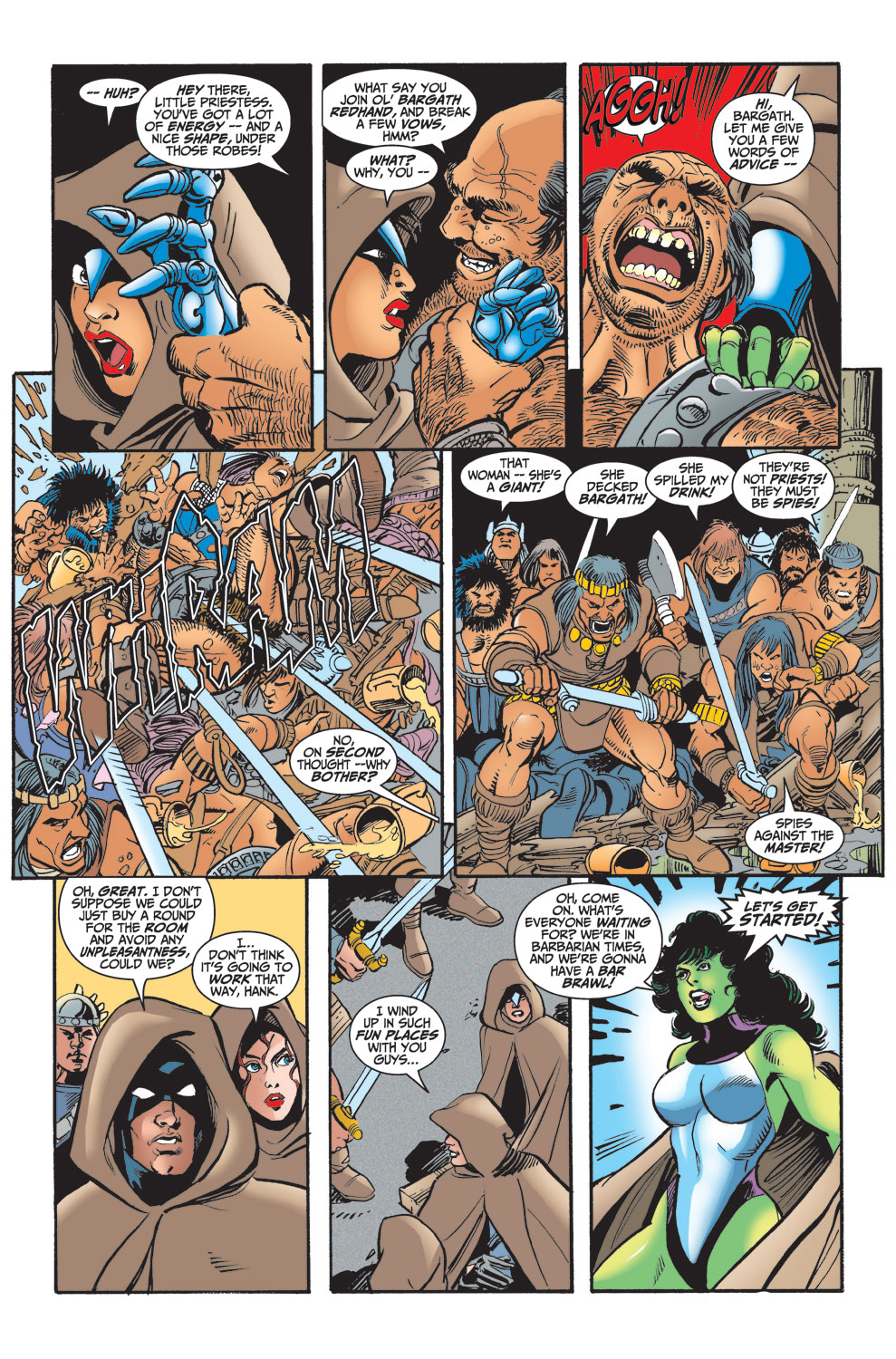 Read online Avengers (1998) comic -  Issue #29 - 16