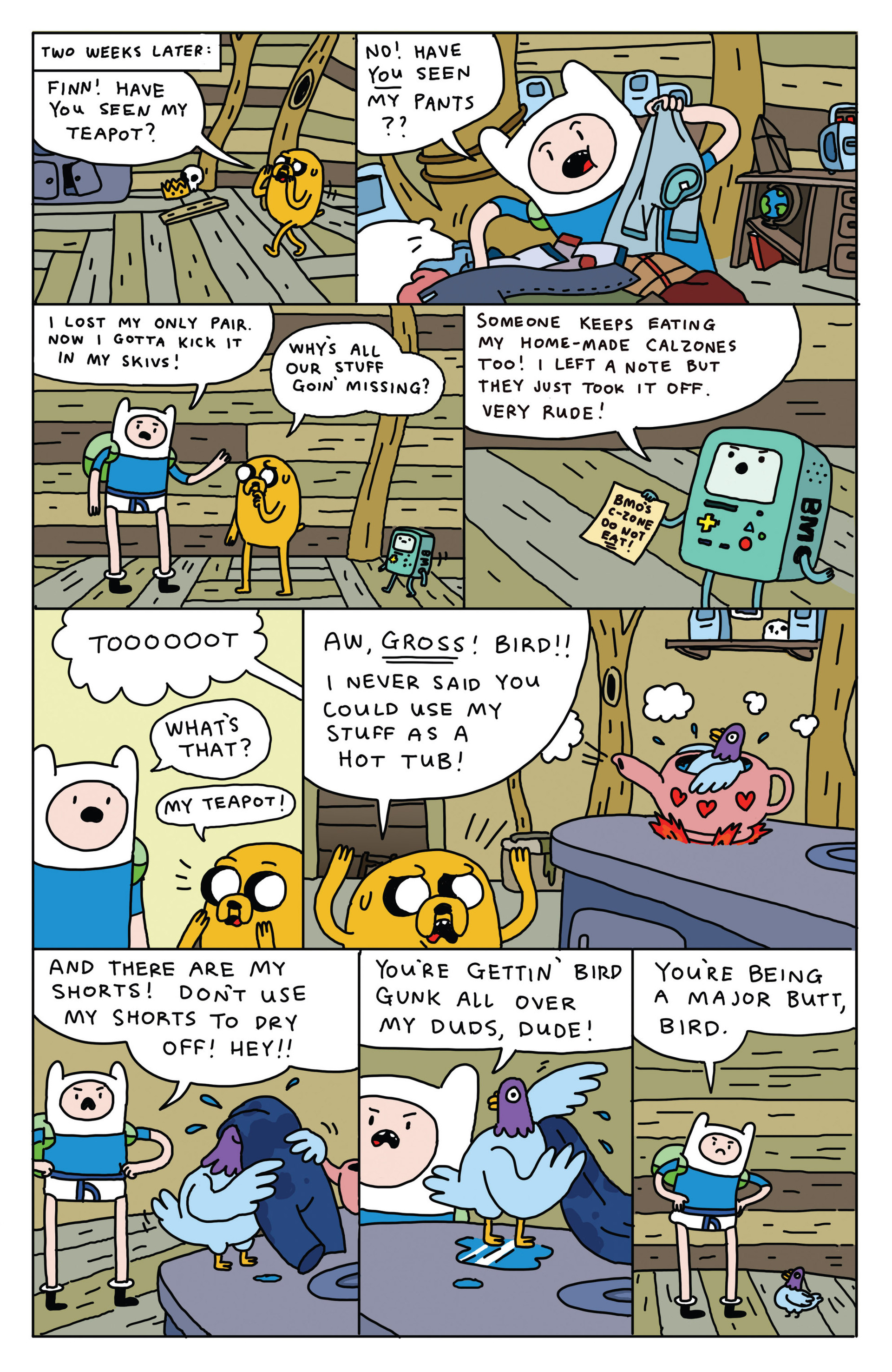 Read online Adventure Time 2013 Summer Special comic -  Issue #Adventure Time 2013 Summer Special Full - 14