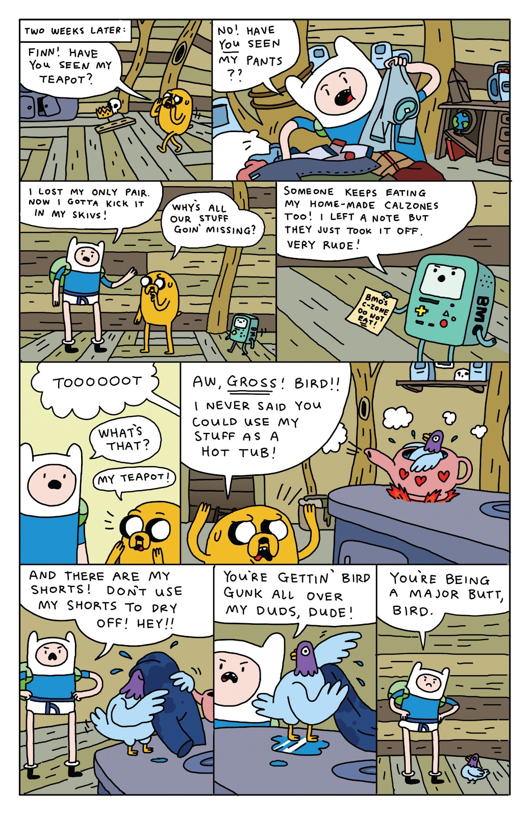 Adventure Time 2013 Summer Special issue Full - Page 14