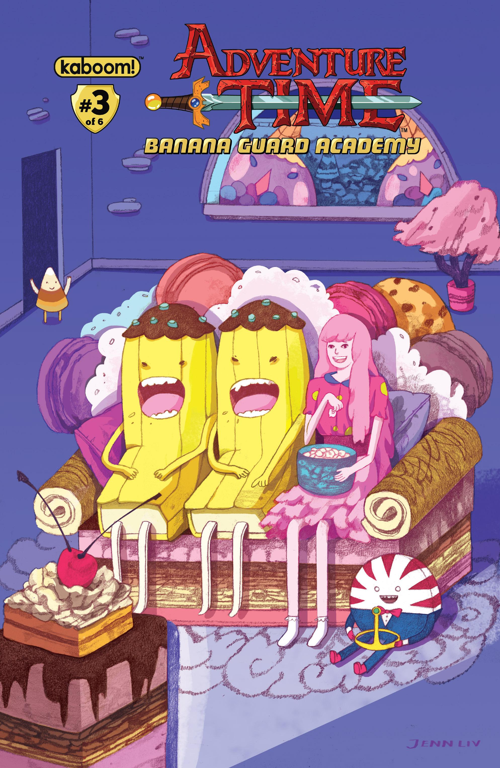 Read online Adventure Time: Banana Guard Academ comic -  Issue #3 - 2