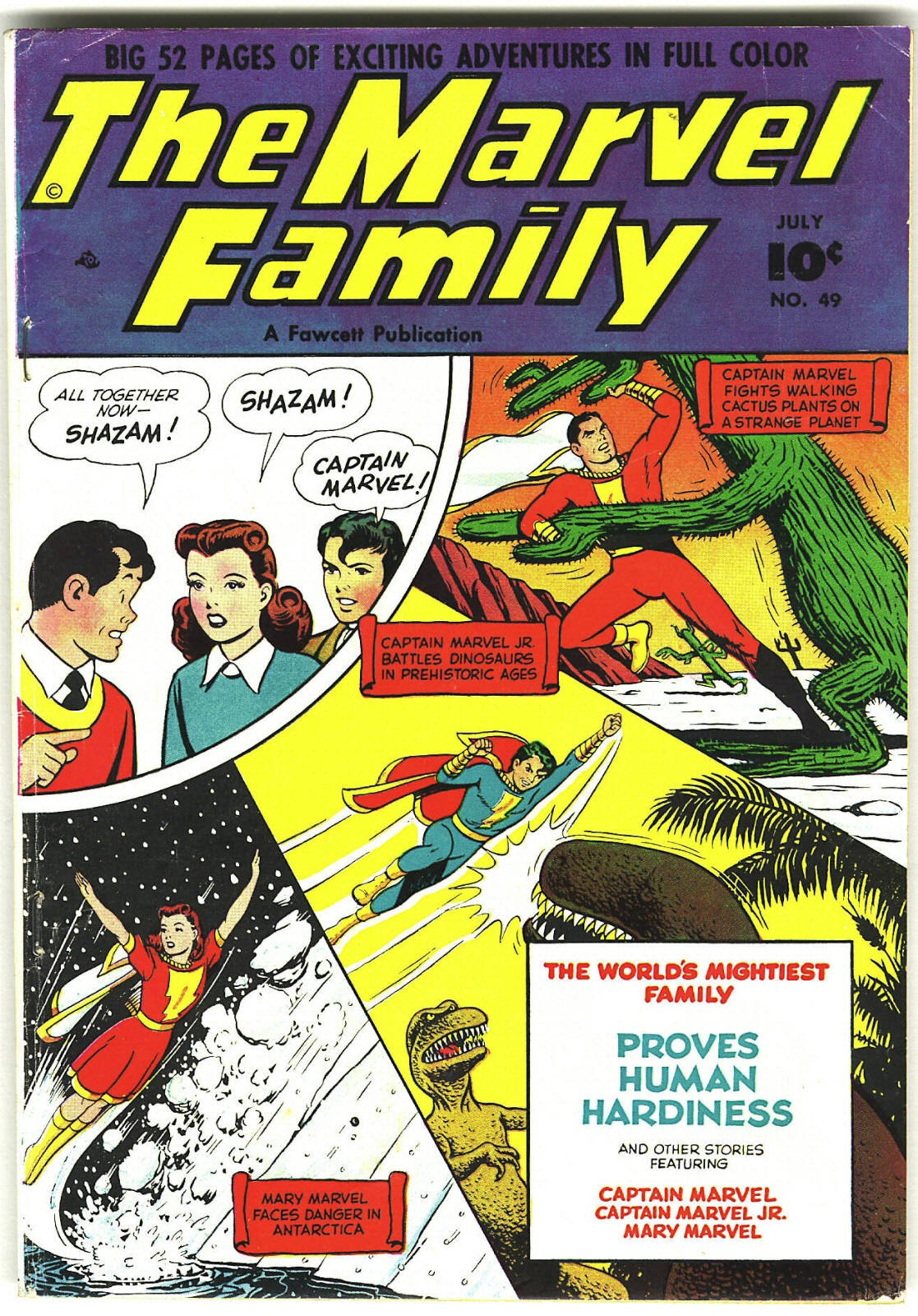 The Marvel Family issue 49 - Page 1