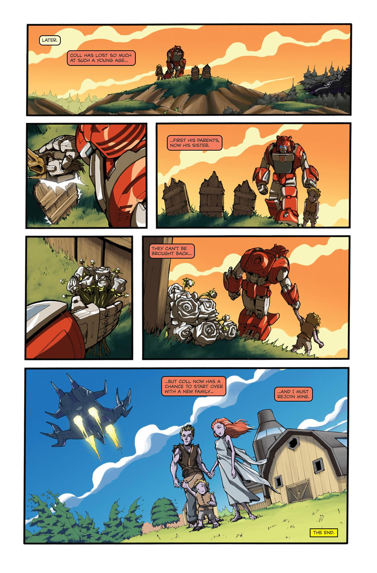 Read online Transformers Spotlight: Cliffjumper comic -  Issue # Full - 26