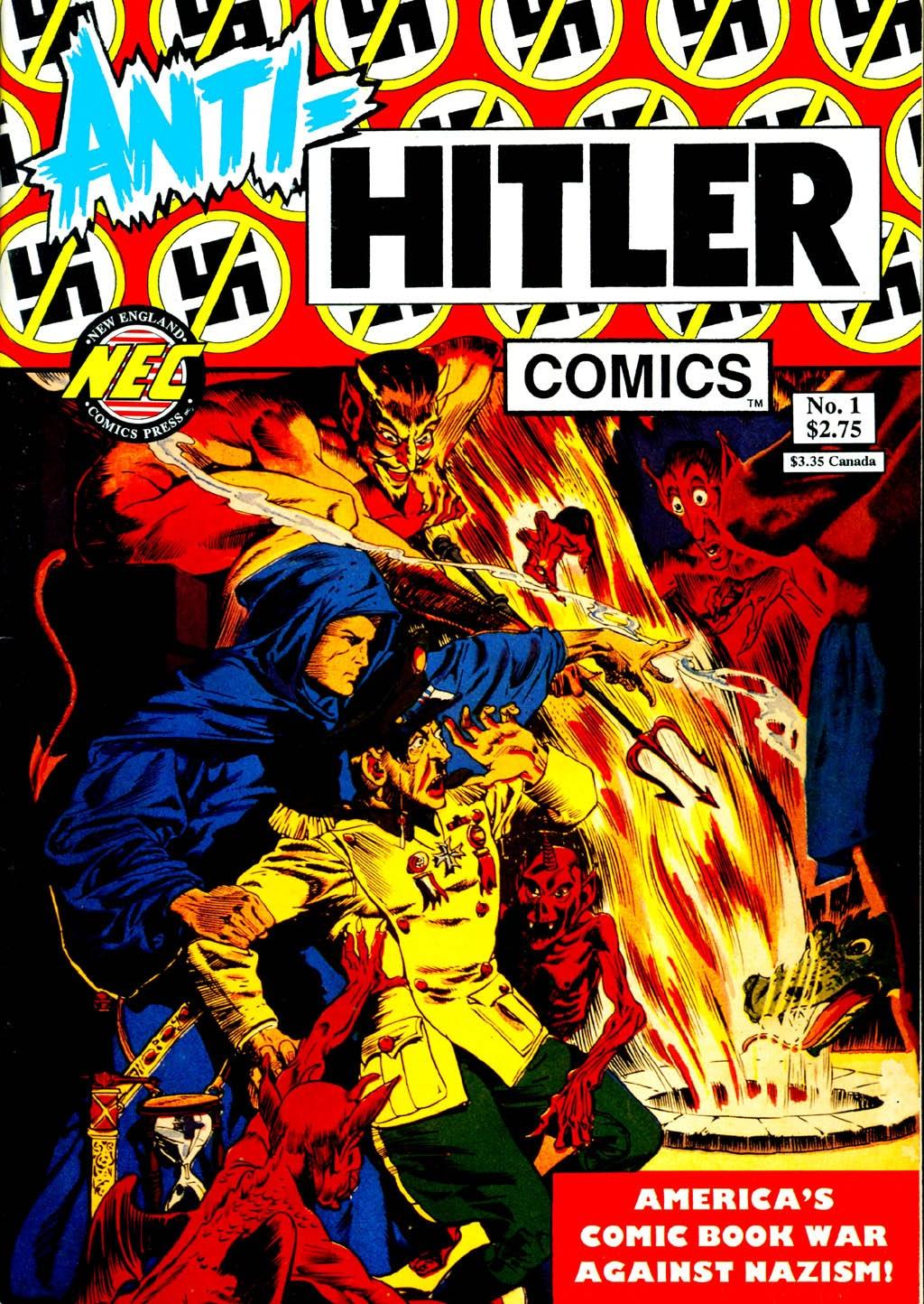Anti-Hitler Comics Full Page 1