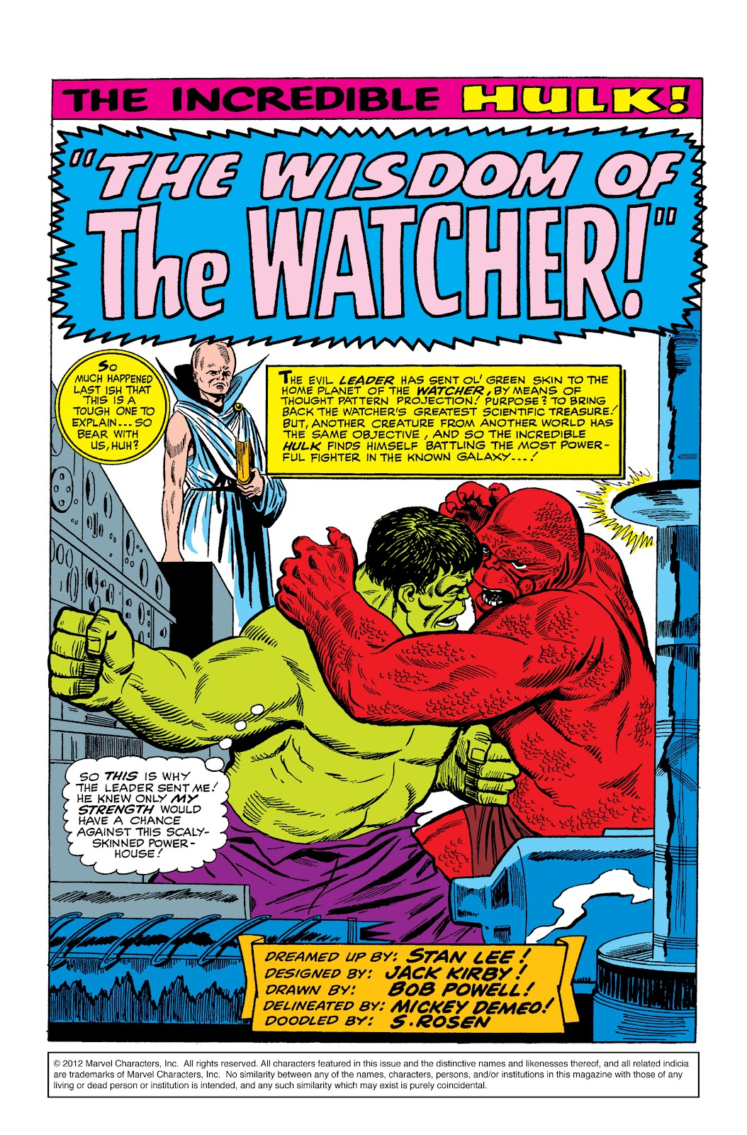 Read online Marvel Masterworks: The Incredible Hulk comic -  Issue # TPB 2 (Part 2) - 79
