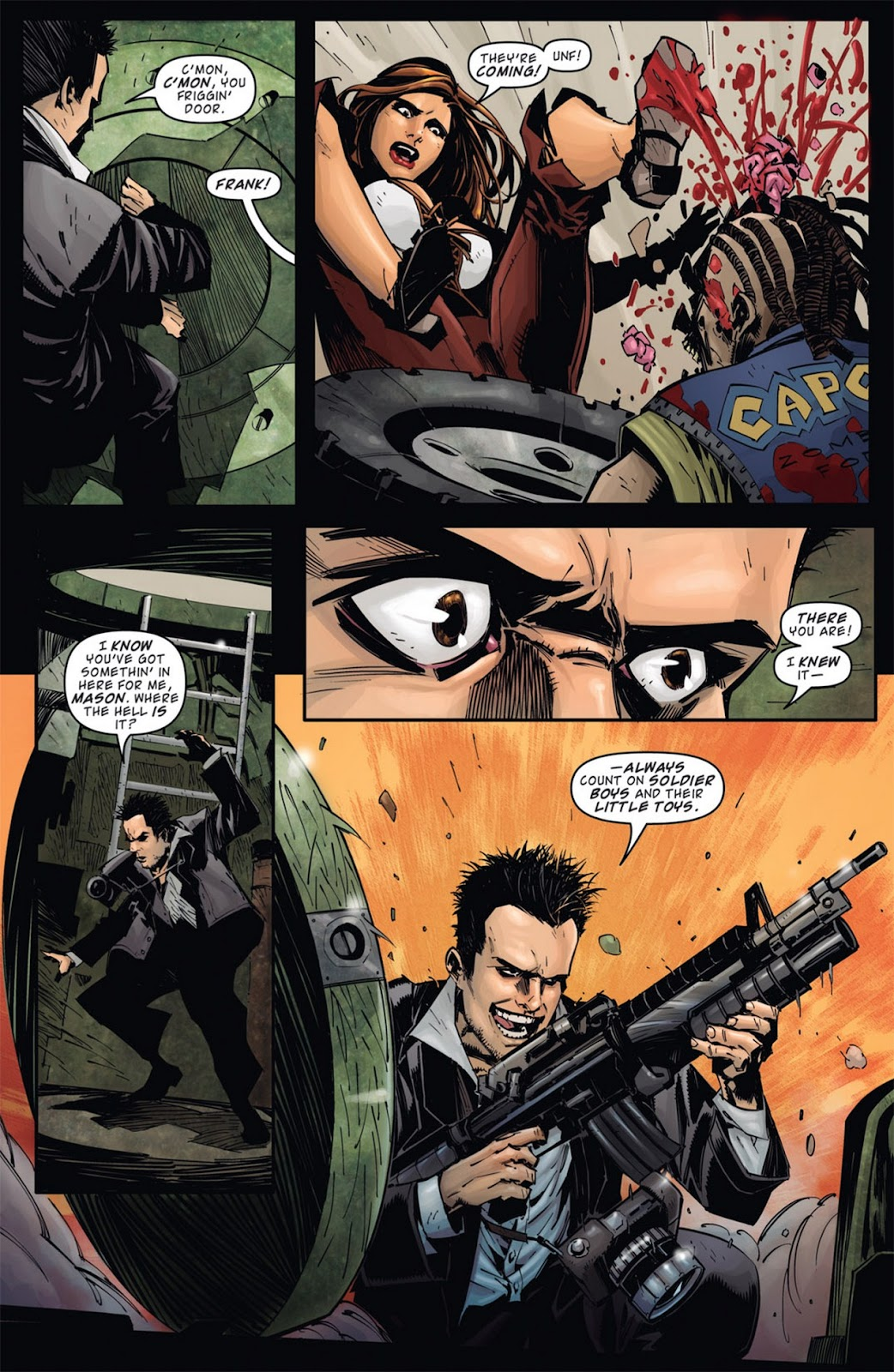 Read online Dead Rising: Road to Fortune comic -  Issue #1 - 7