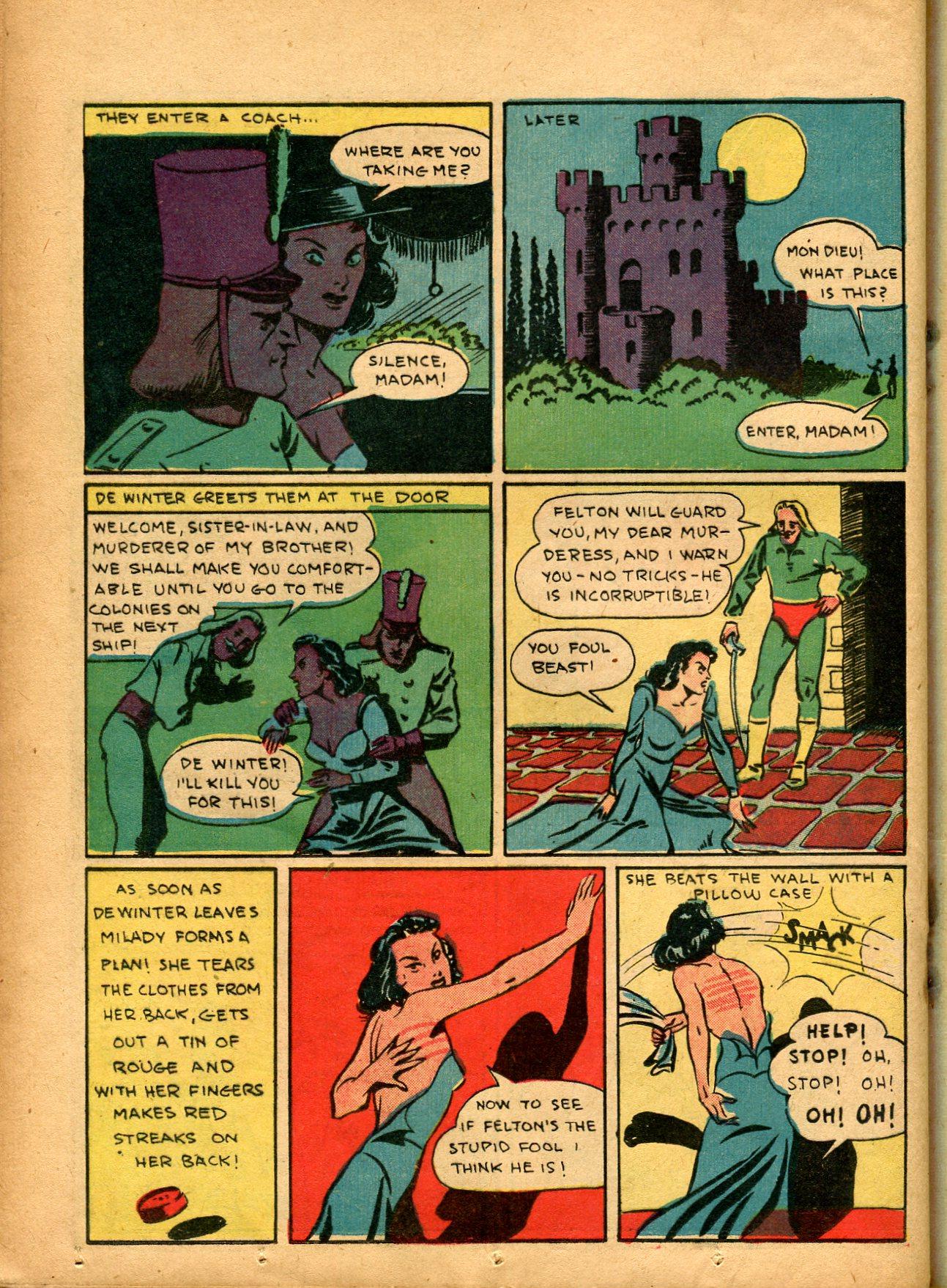 Read online Shadow Comics comic -  Issue #8 - 44