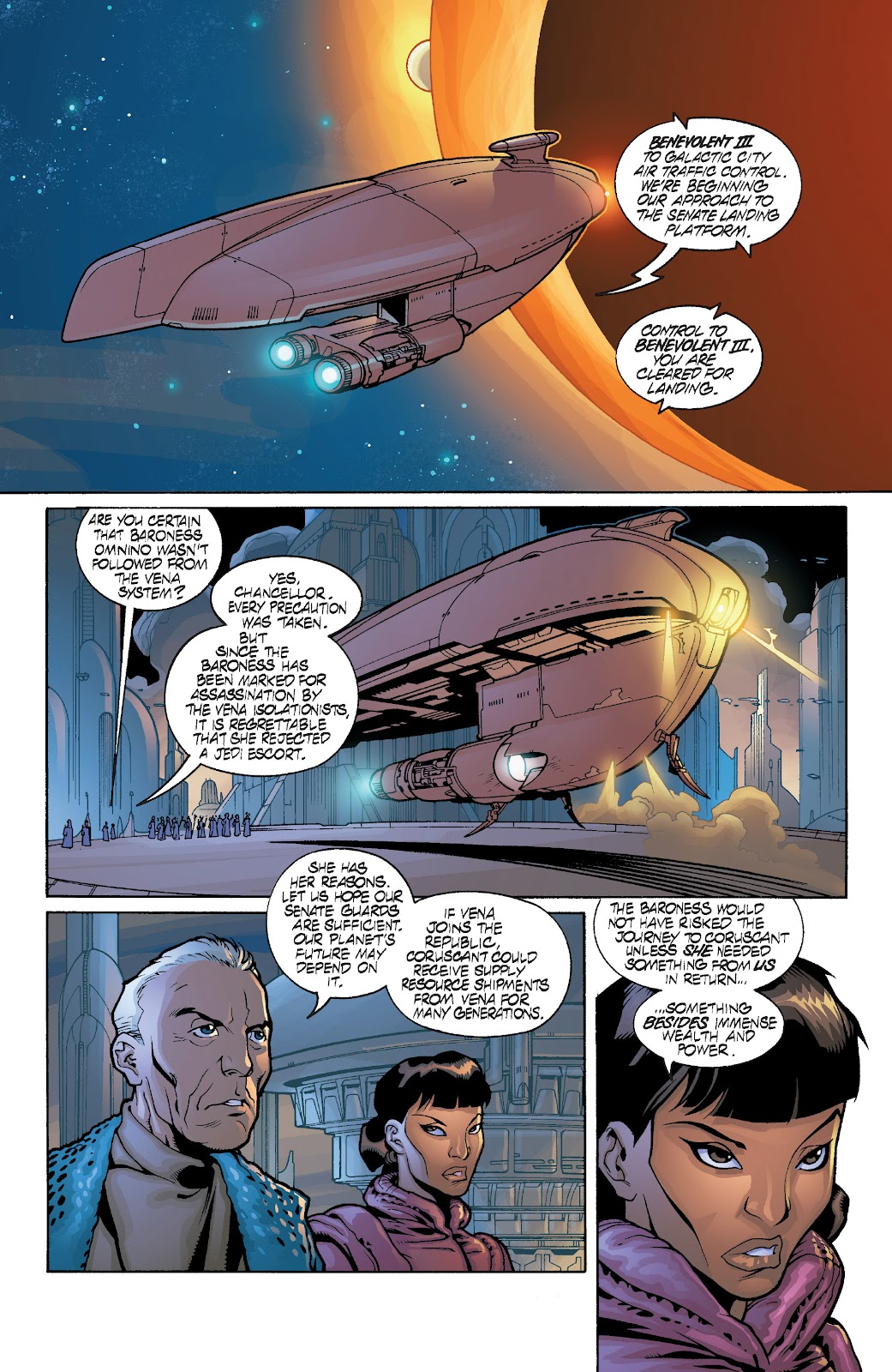 Read online Star Wars Legends: Rise of the Sith - Epic Collection comic -  Issue # TPB 1 (Part 3) - 72