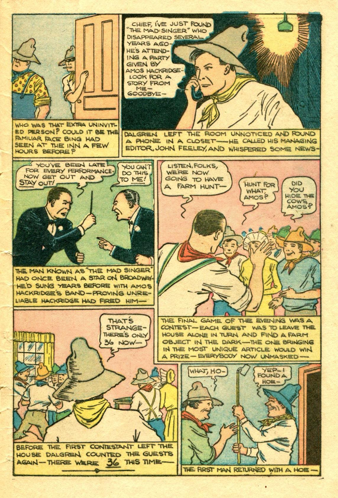 Read online Shadow Comics comic -  Issue #75 - 46