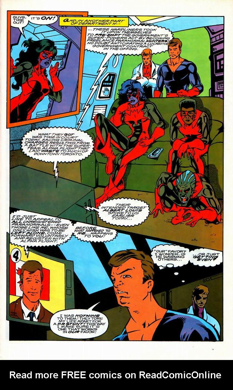 Read online Alpha Flight (1983) comic -  Issue #126 - 21