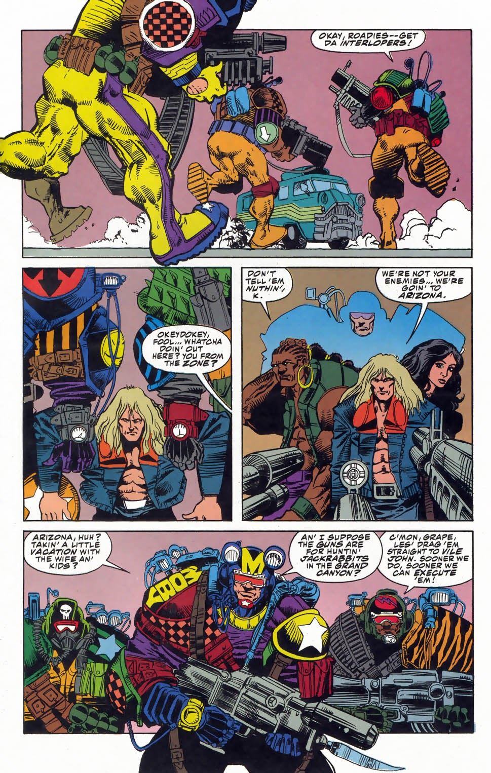 Read online Kamandi: At Earth's End comic -  Issue #3 - 24