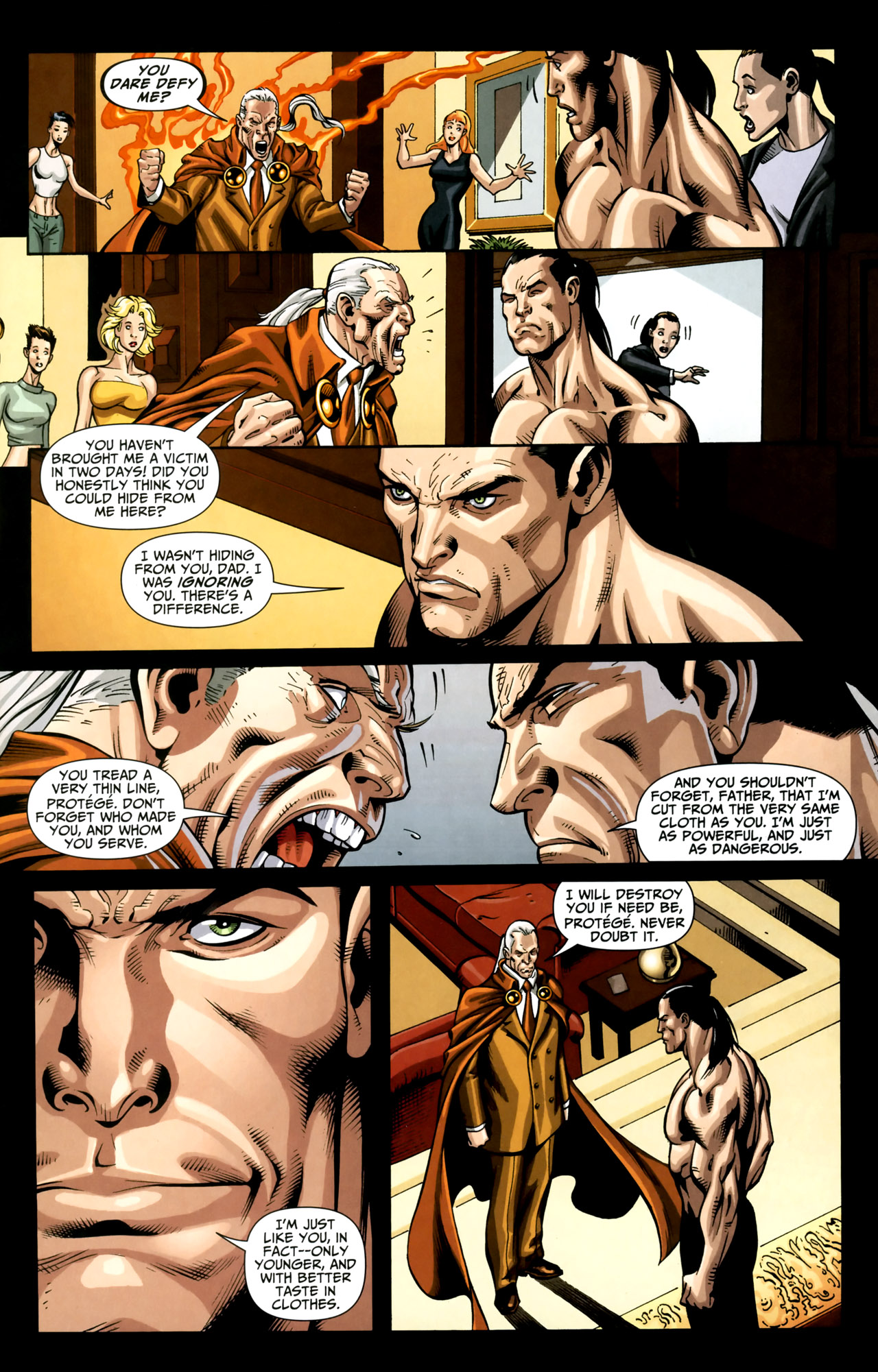 Read online Shadowpact comic -  Issue #18 - 21