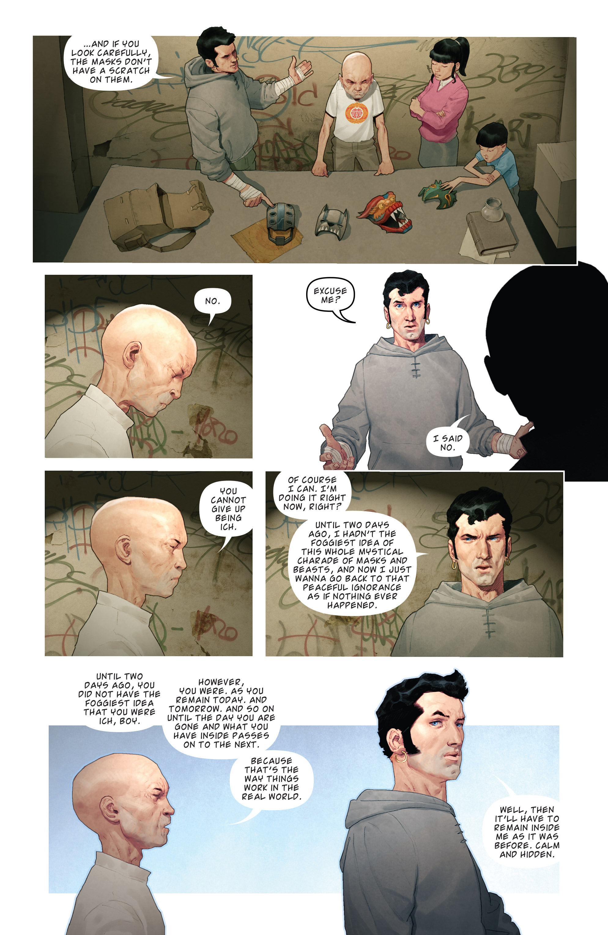 Read online Brutal Nature: Concrete Fury comic -  Issue #4 - 14