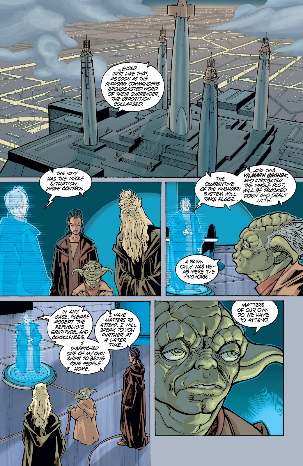 Read online Star Wars Legends: Rise of the Sith - Epic Collection comic -  Issue # TPB 1 (Part 5) - 55